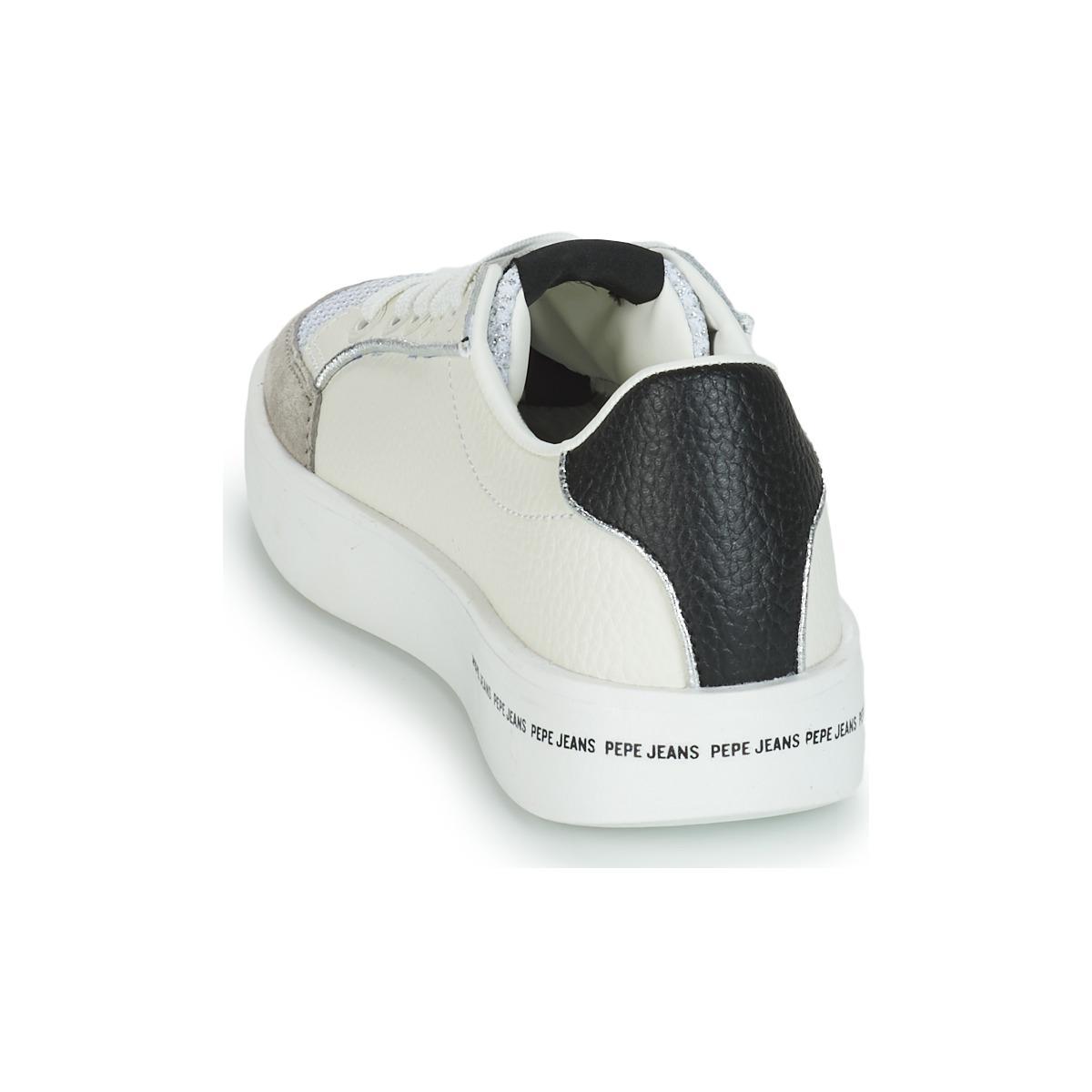 BRIXTON MESH BASH Chaussures Jean Pepe Jeans en coloris Blanc
