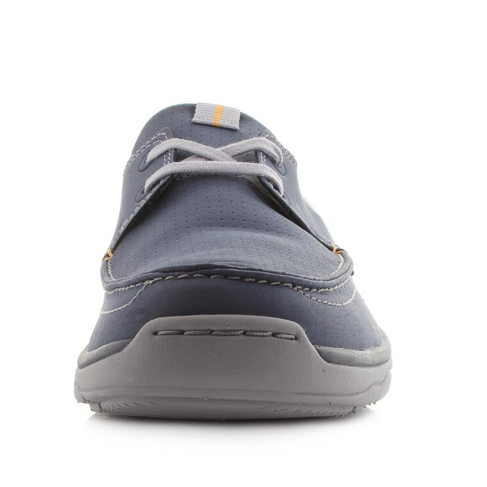 efe7679ffce Clarks Marcus Edge Boat Shoes in Blue for Men - Lyst