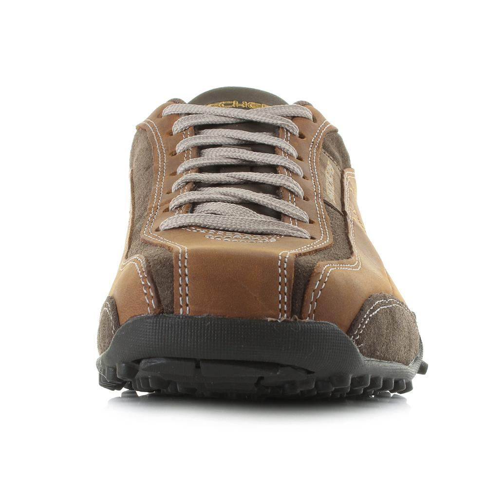 e5d102c9fa5d Skechers Urban Track Imperial Trainers in Brown for Men - Lyst