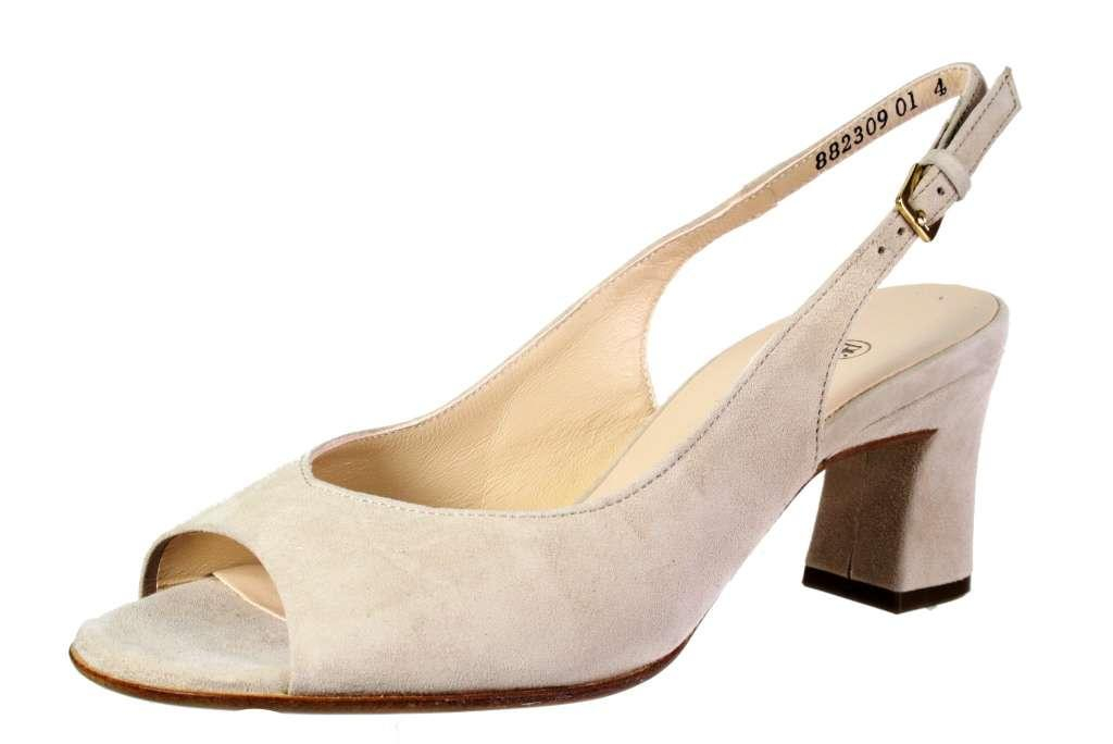 low priced d004e 253ef Peter Kaiser Wo Peep Toes Beige Heike in Natural - Lyst