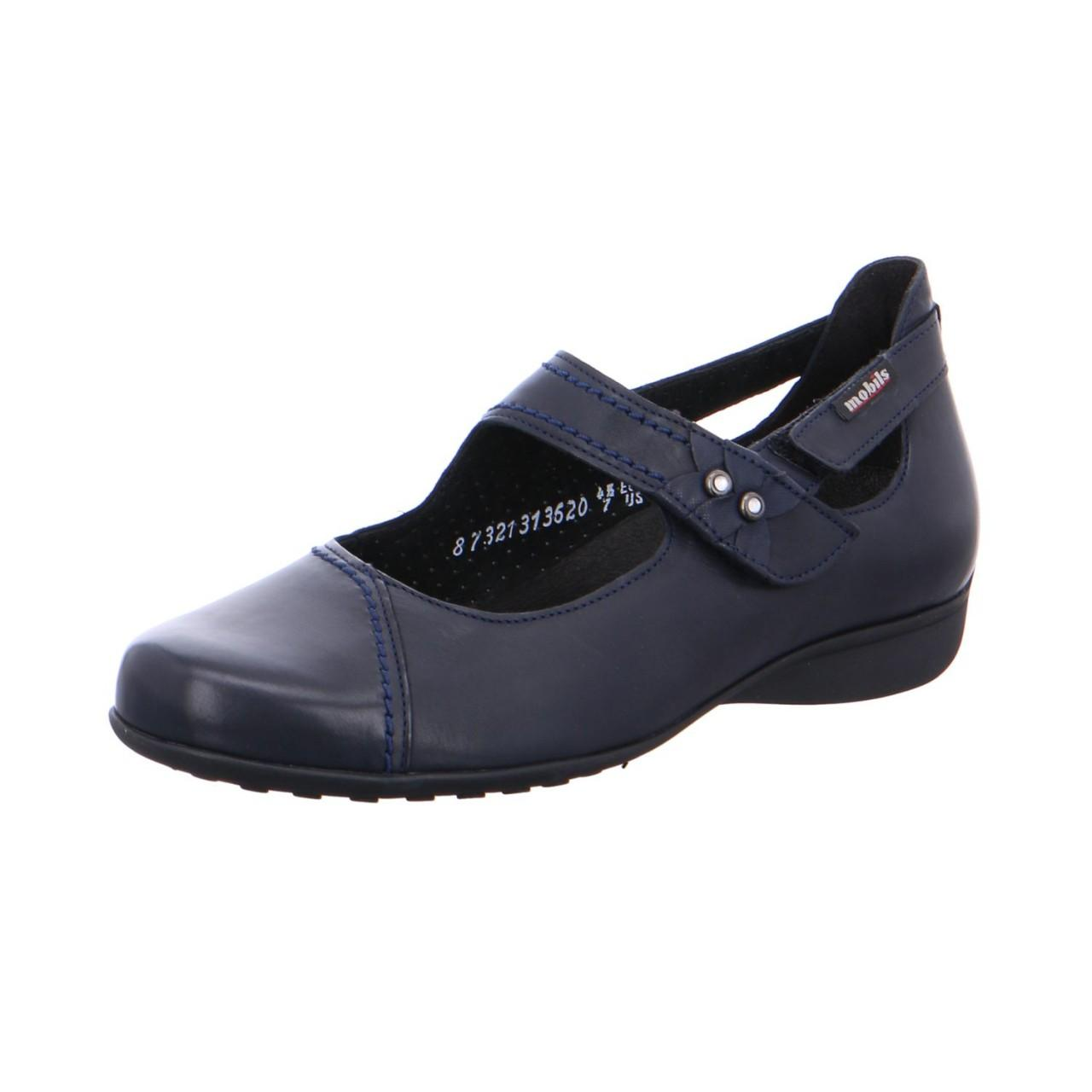 ede856635f9 Mobils By Mephisto Wo Ballerina Shoes Blue Navy in Blue - Lyst