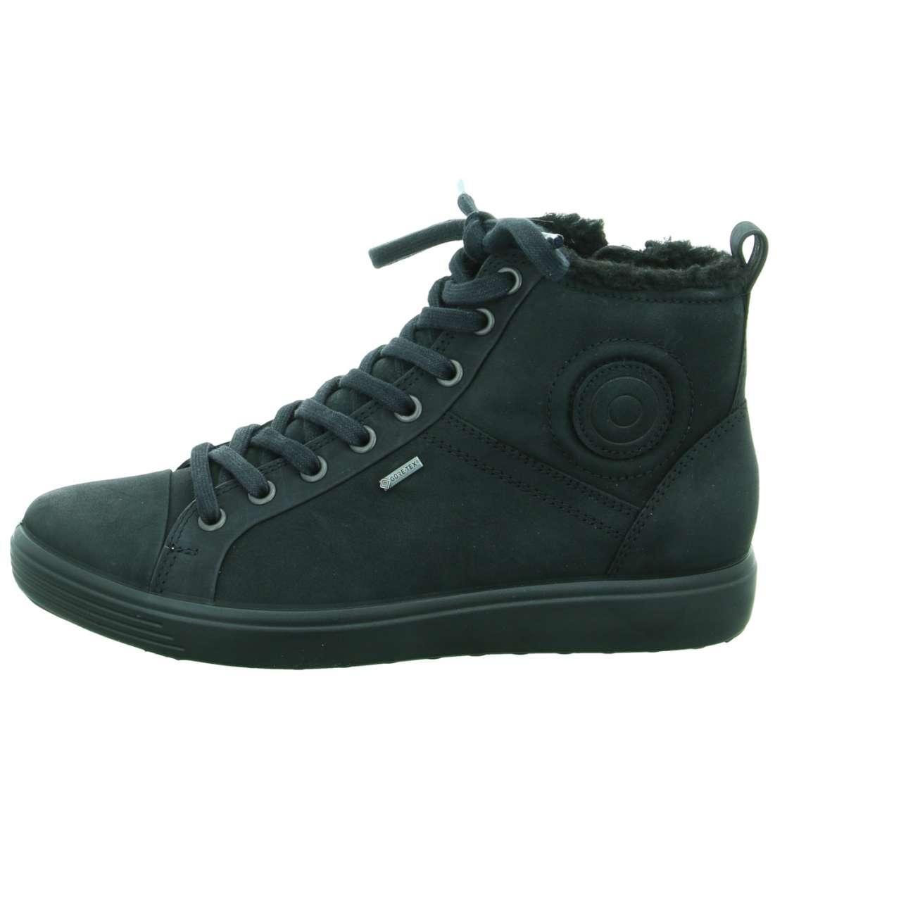 Ecco Wo Winter Boots Black Soft 7 Ladies Lyst