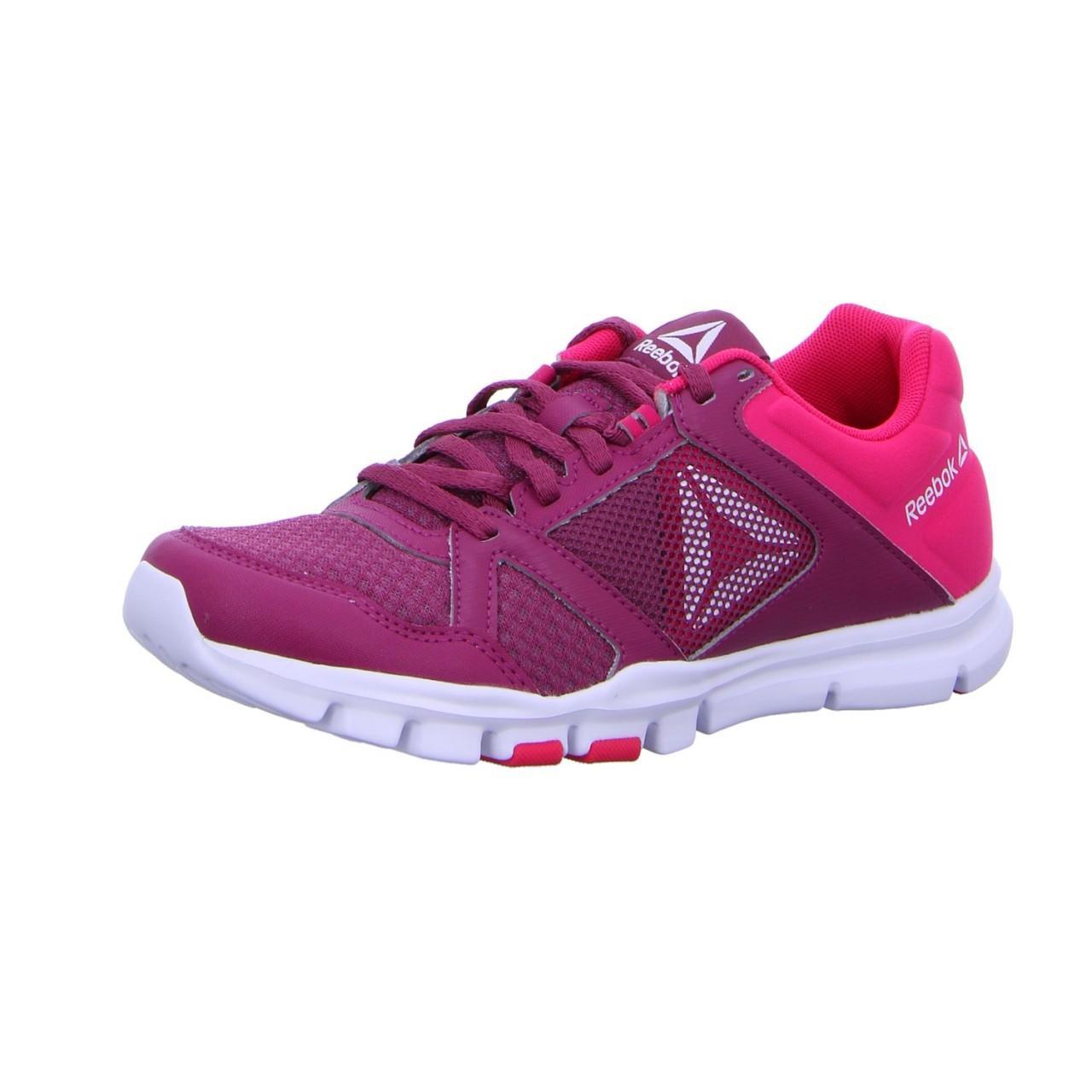 Reebok Wo Trainers Purple/pink Yourflex
