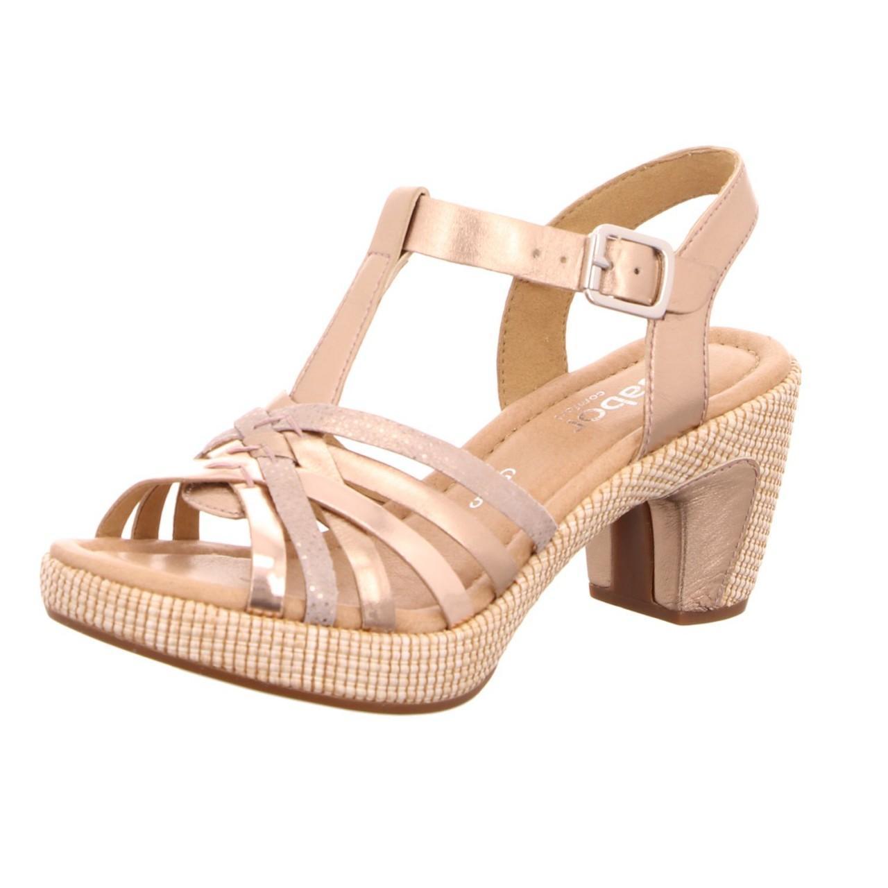 Womens Gabor 21.363 Smart Cross-Strap Heeled Shoes