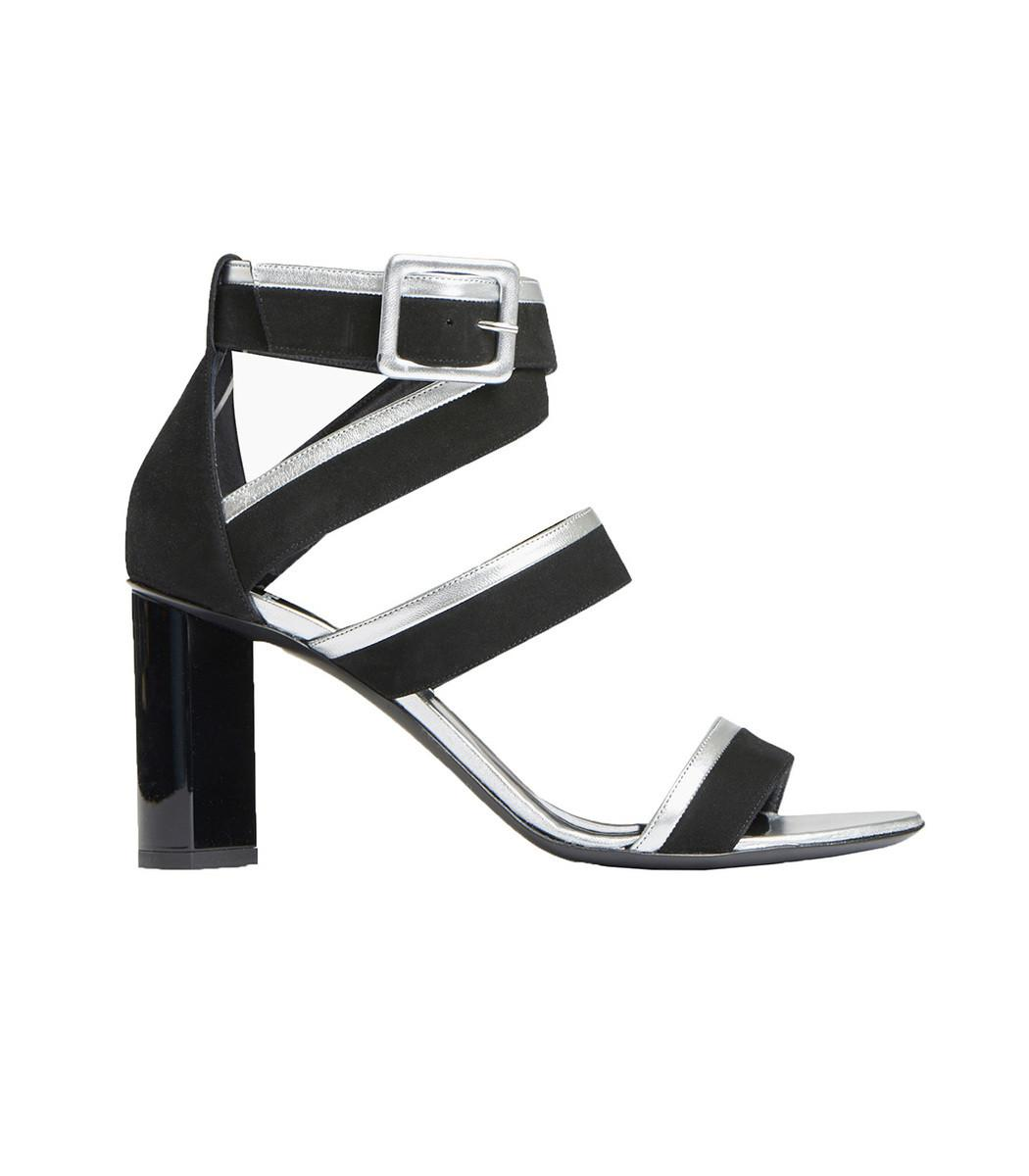 3dde21adedc434 Lyst - Pierre Hardy Alpha 80mm Sandal in Black