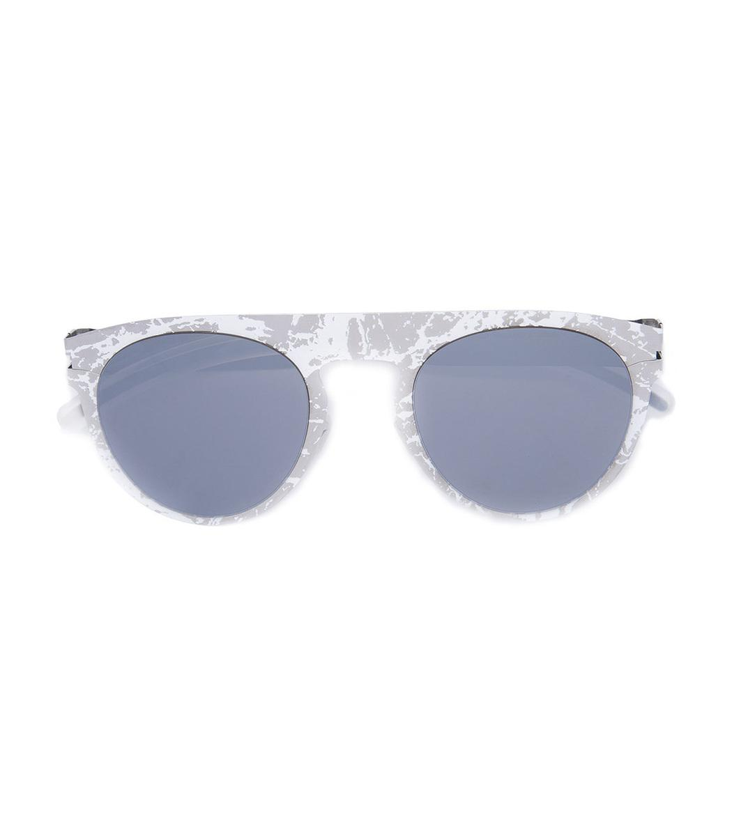 Clearance Pick A Best Explore Online Mykita x Maison Margiela Oval sunglasses - White Mykita Buy Cheap For Cheap New Styles Cheap Sale Store 5sph7PPnMy