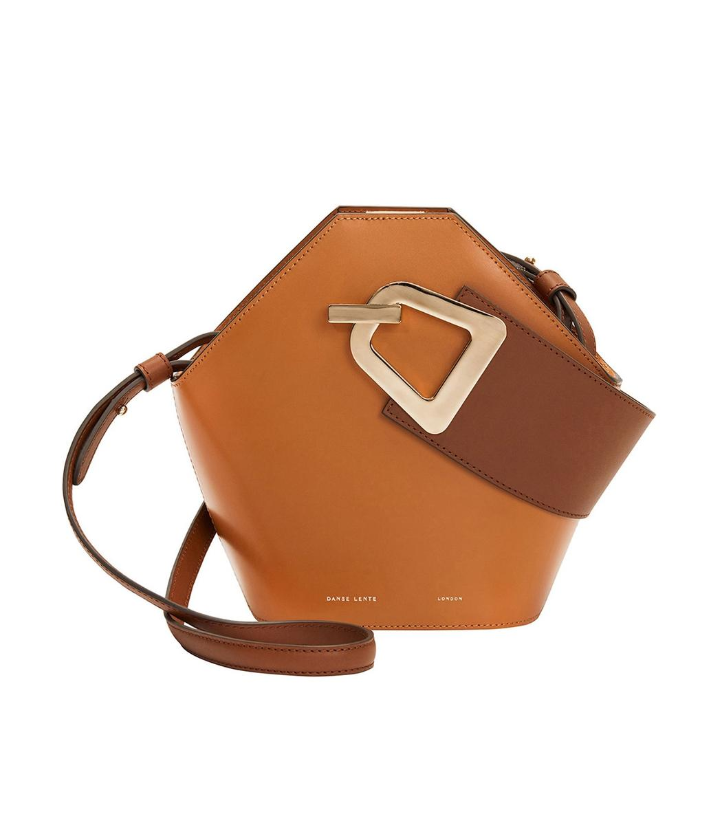 b0b7a4ca028a Lyst - Danse Lente Mini Johnny Bucket Bag In Bicolor in Brown