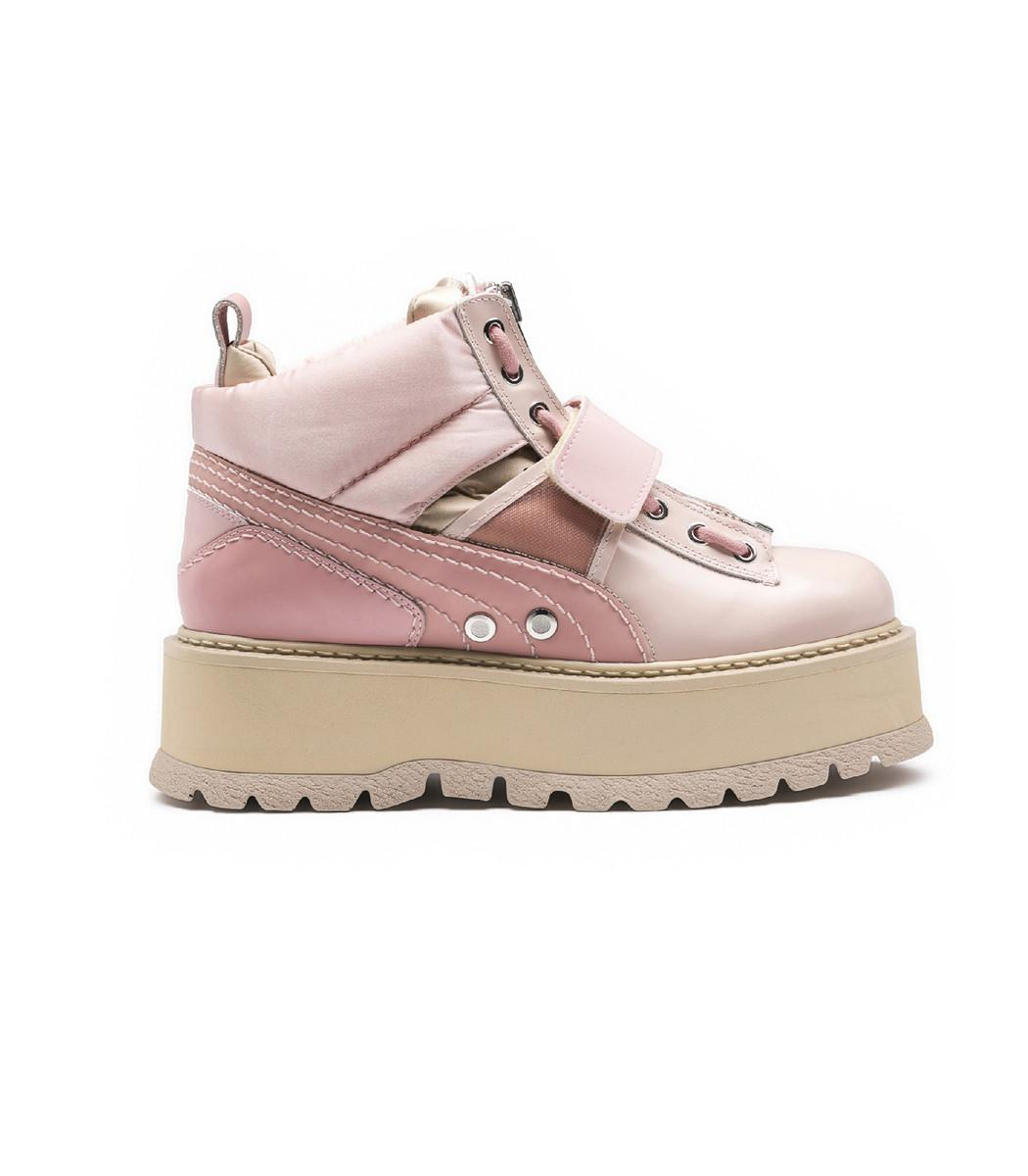 reputable site 924a5 48b93 Women's Pink 'fenty X By Rihanna' Sneaker Boots
