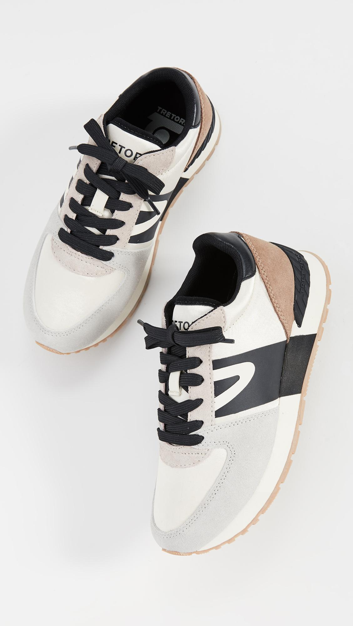 Tretorn Satin Loyola 2 Lace Up Sneakers