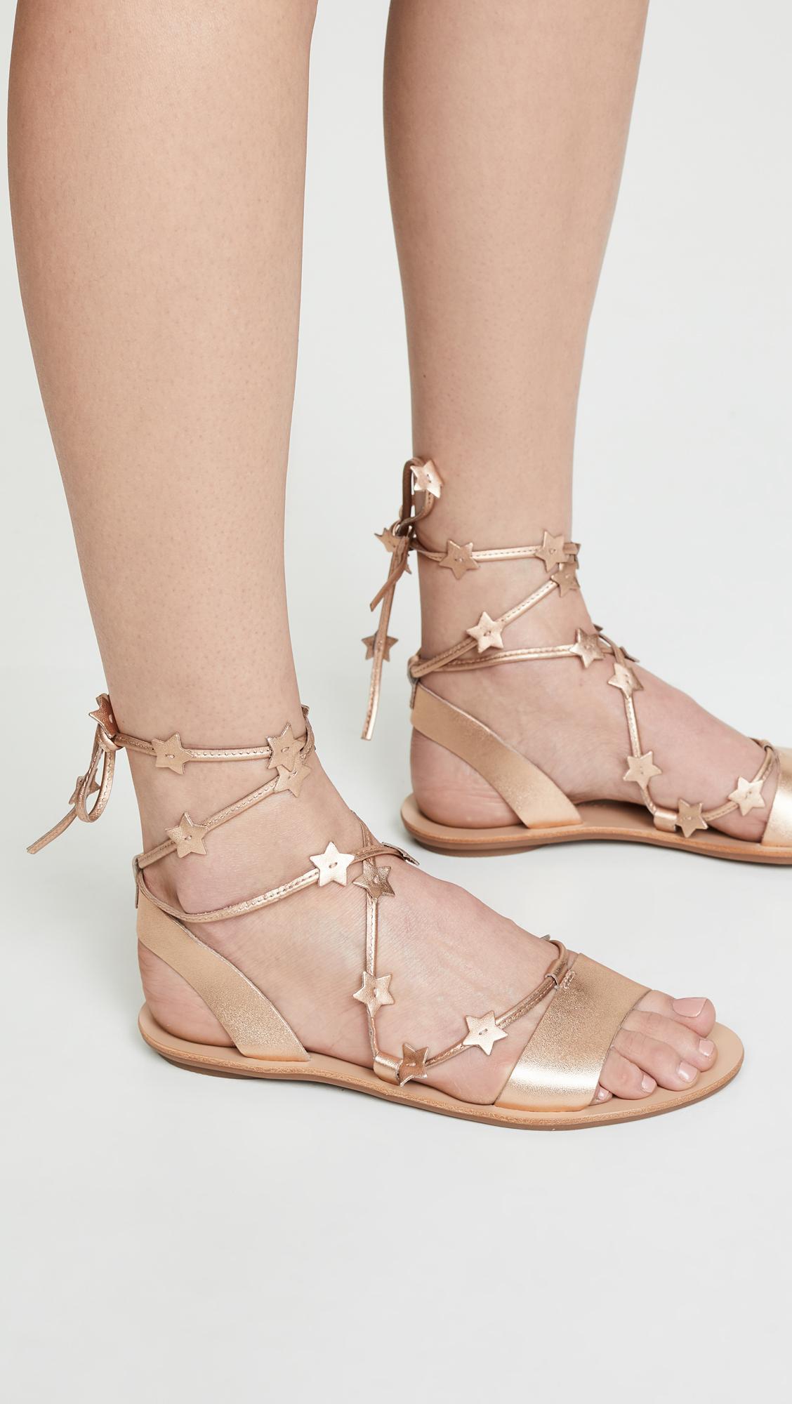 4f2770903088 Loeffler Randall - Multicolor Starla Ankle Wrap Sandals - Lyst. View  fullscreen