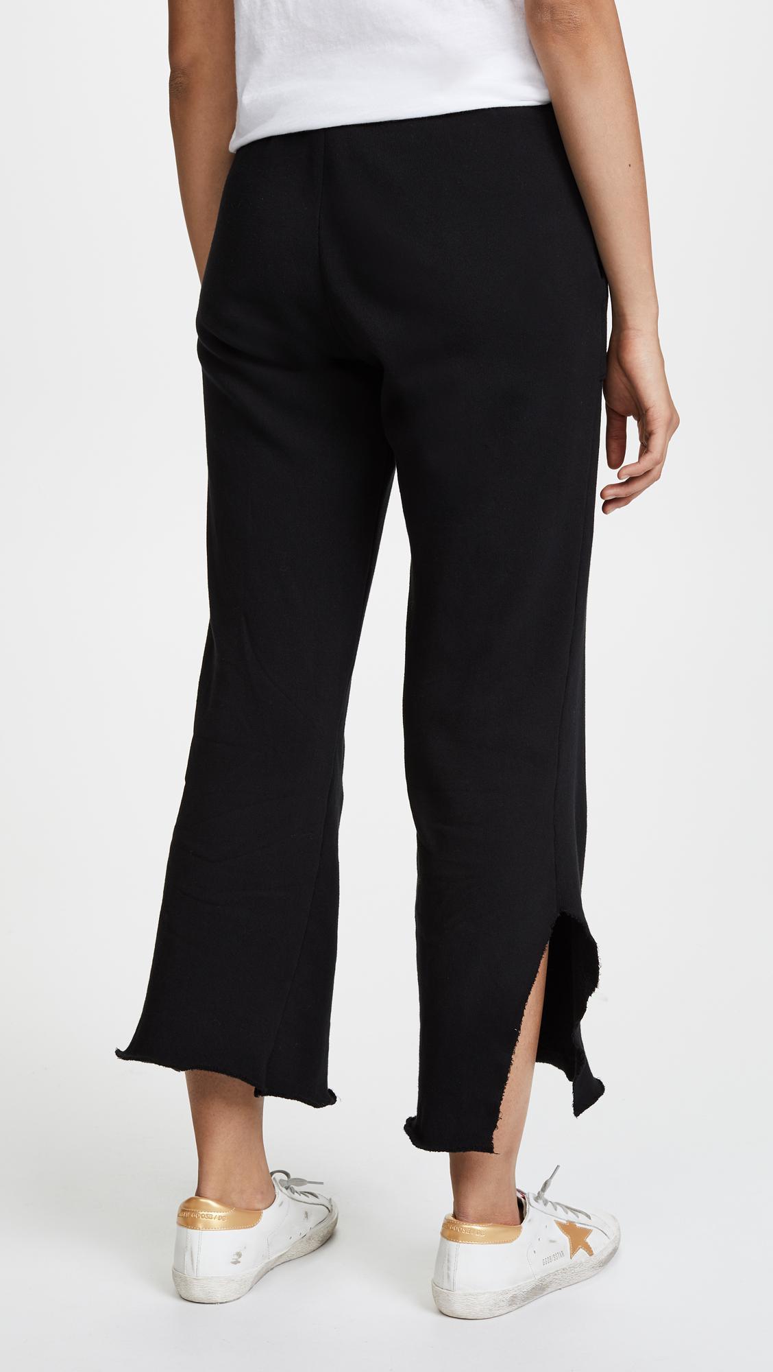 Lna Dennis Sweatpants in Black