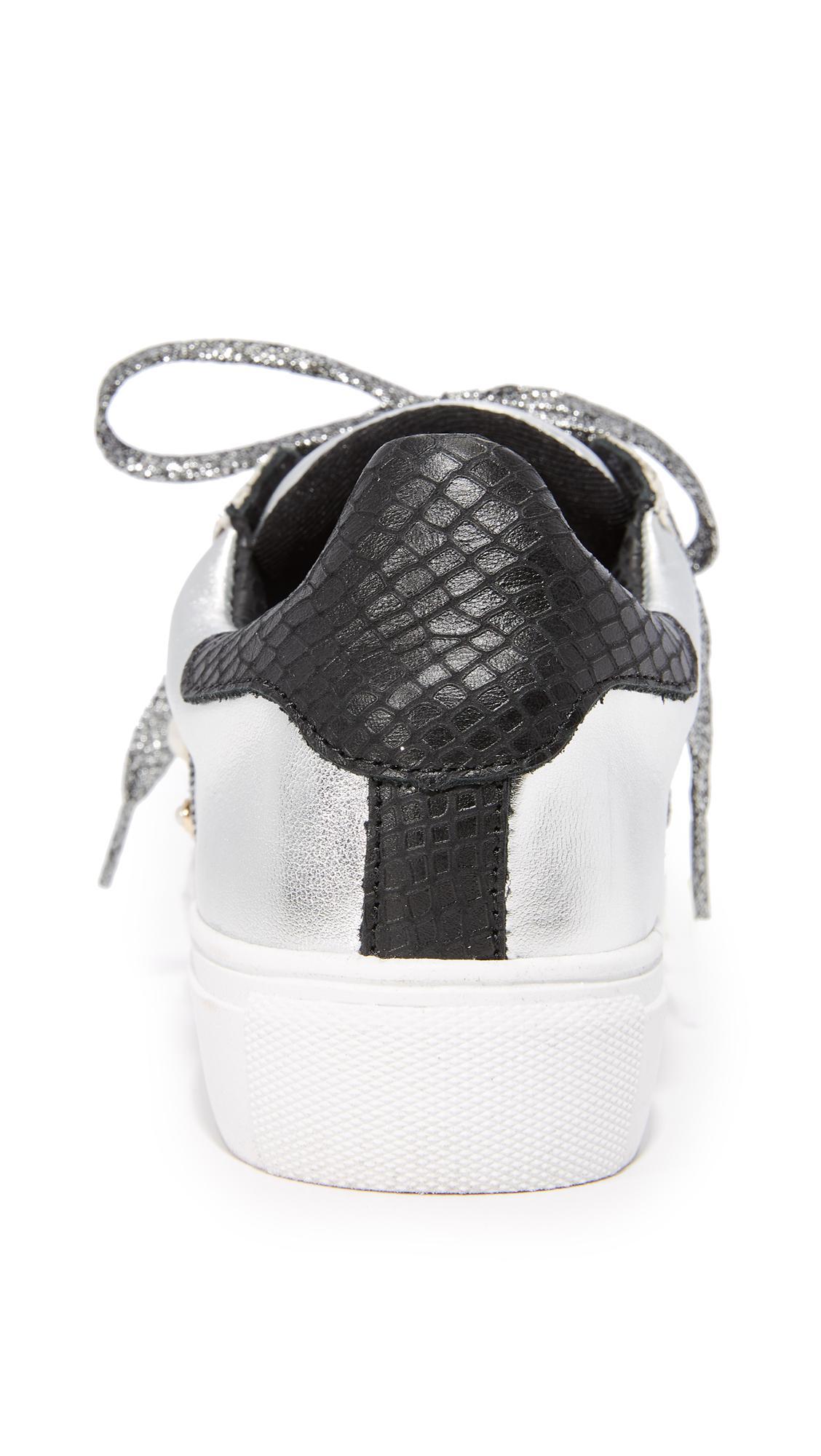 ecd0c1e97eeee Steven by Steve Madden Metallic Cory Classic Sneakers