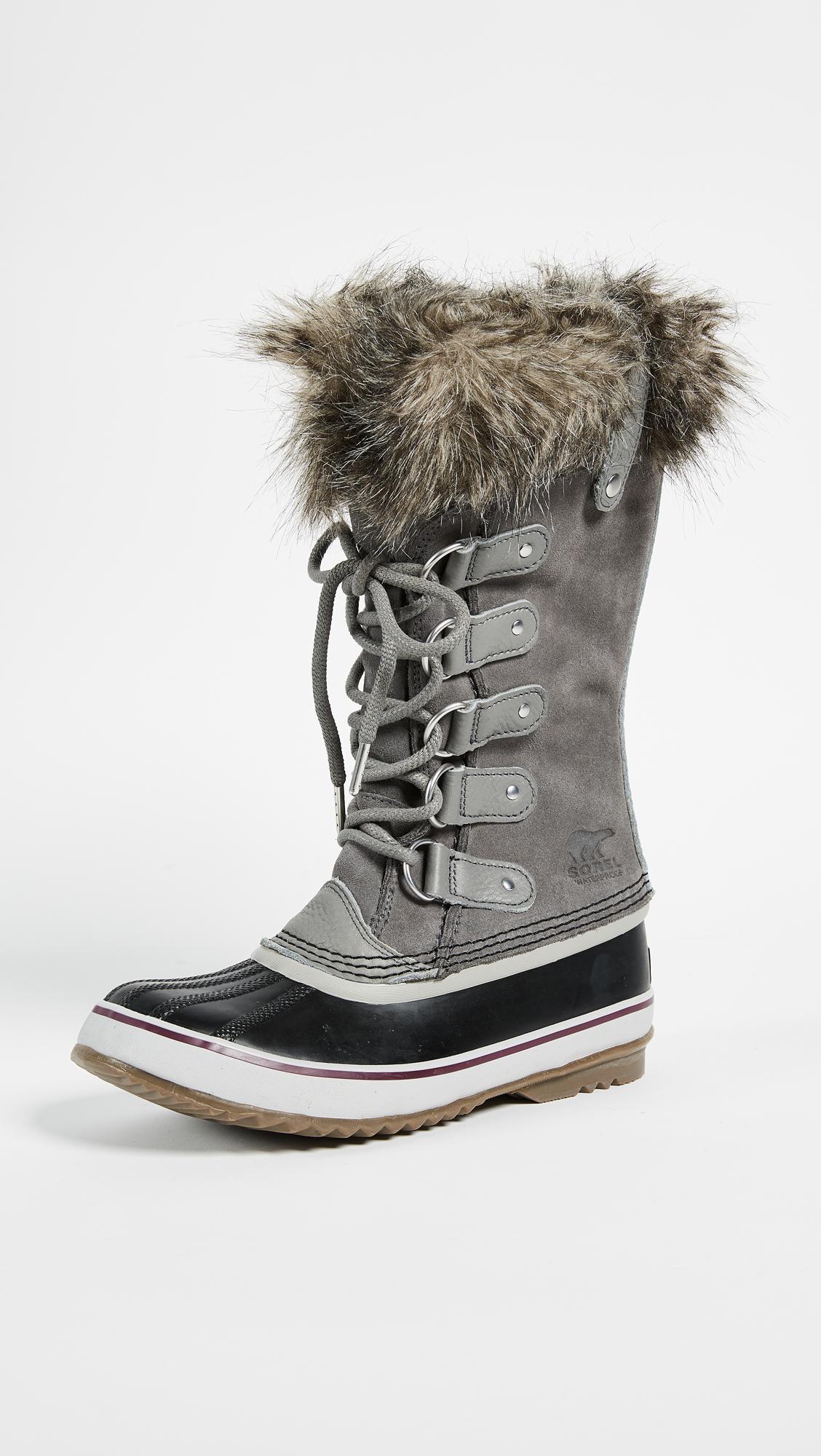 lyst sorel joan of arctic boots save 17. Black Bedroom Furniture Sets. Home Design Ideas