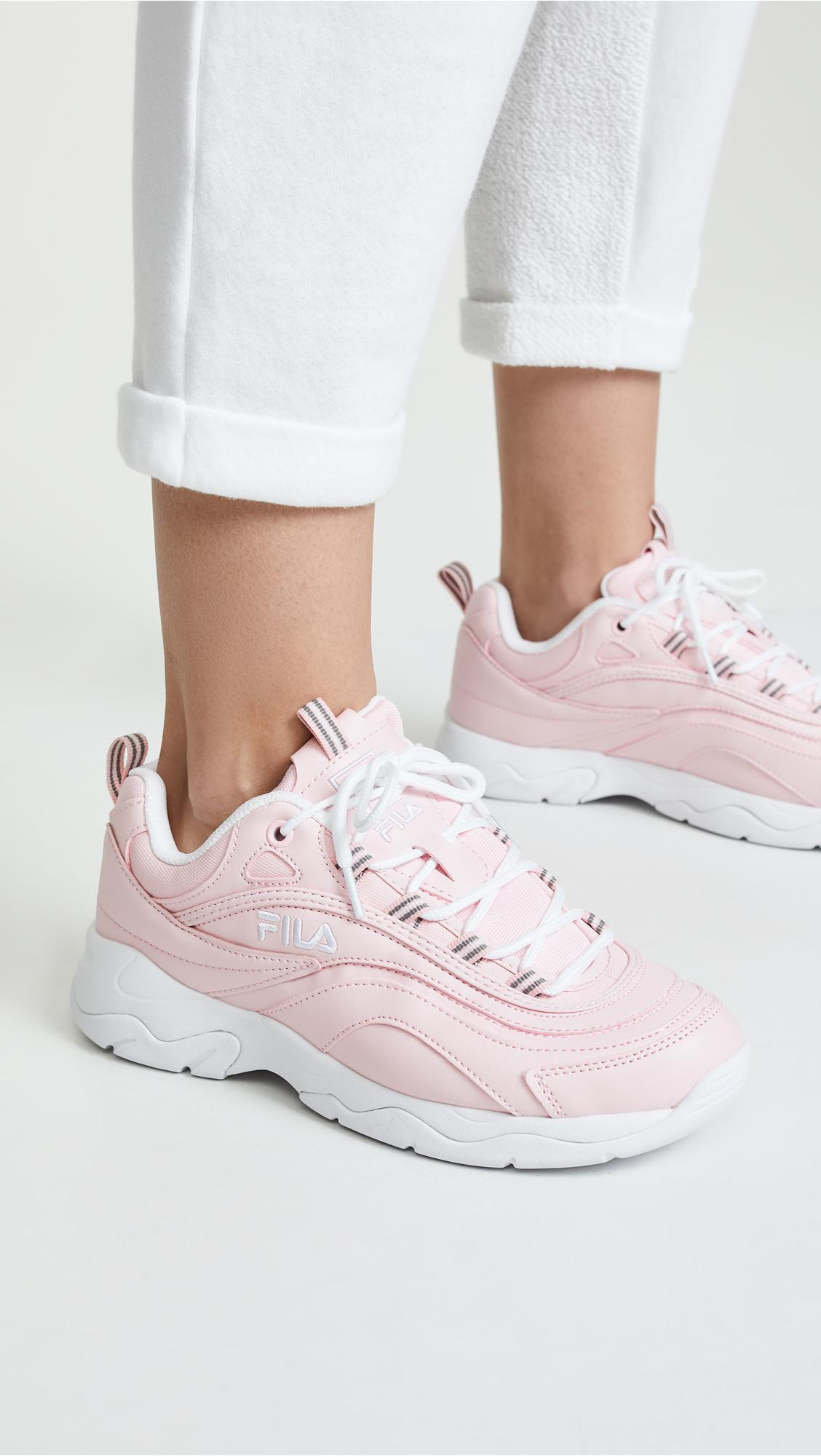 Women's Pink Ray Sneakers