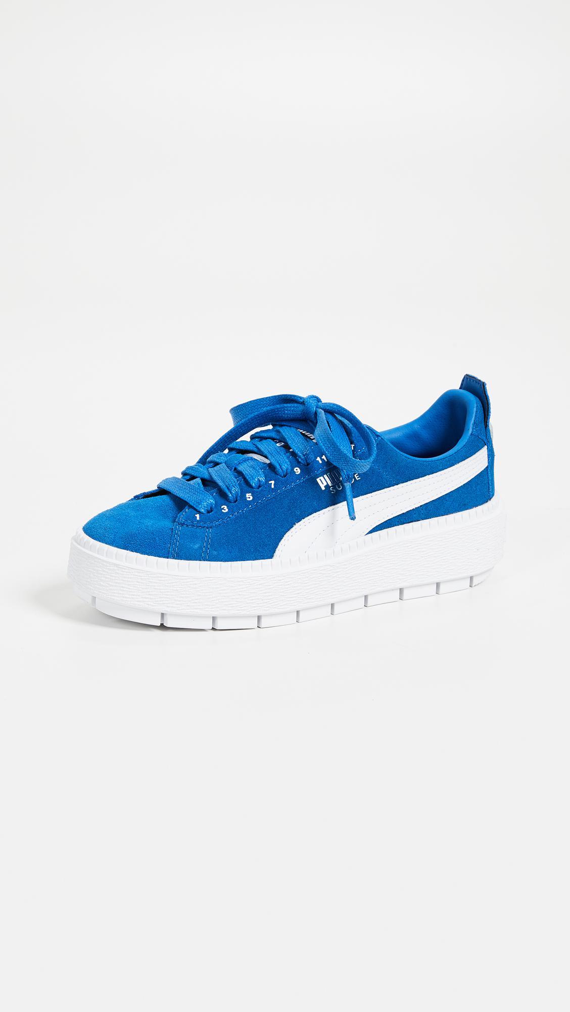 af2c85444799 Lyst - PUMA X Ader Error Platform Sneakers in Blue