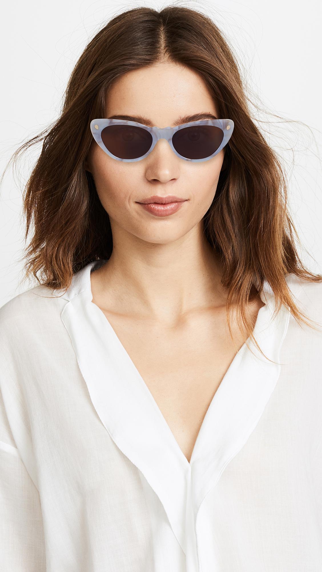 e45dfd3a0a Lyst - Lucy Folk Slice Of Heaven Sunglasses - Save 48%