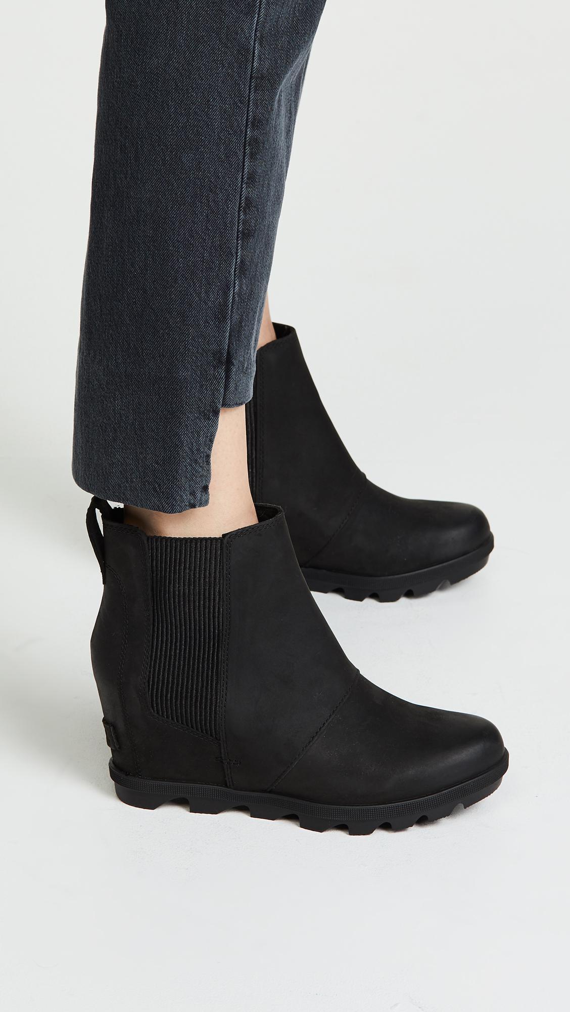 5c14d1680d4 Lyst - Sorel Joan Of Arctic Wedge Boot Black in Black - Save 45%