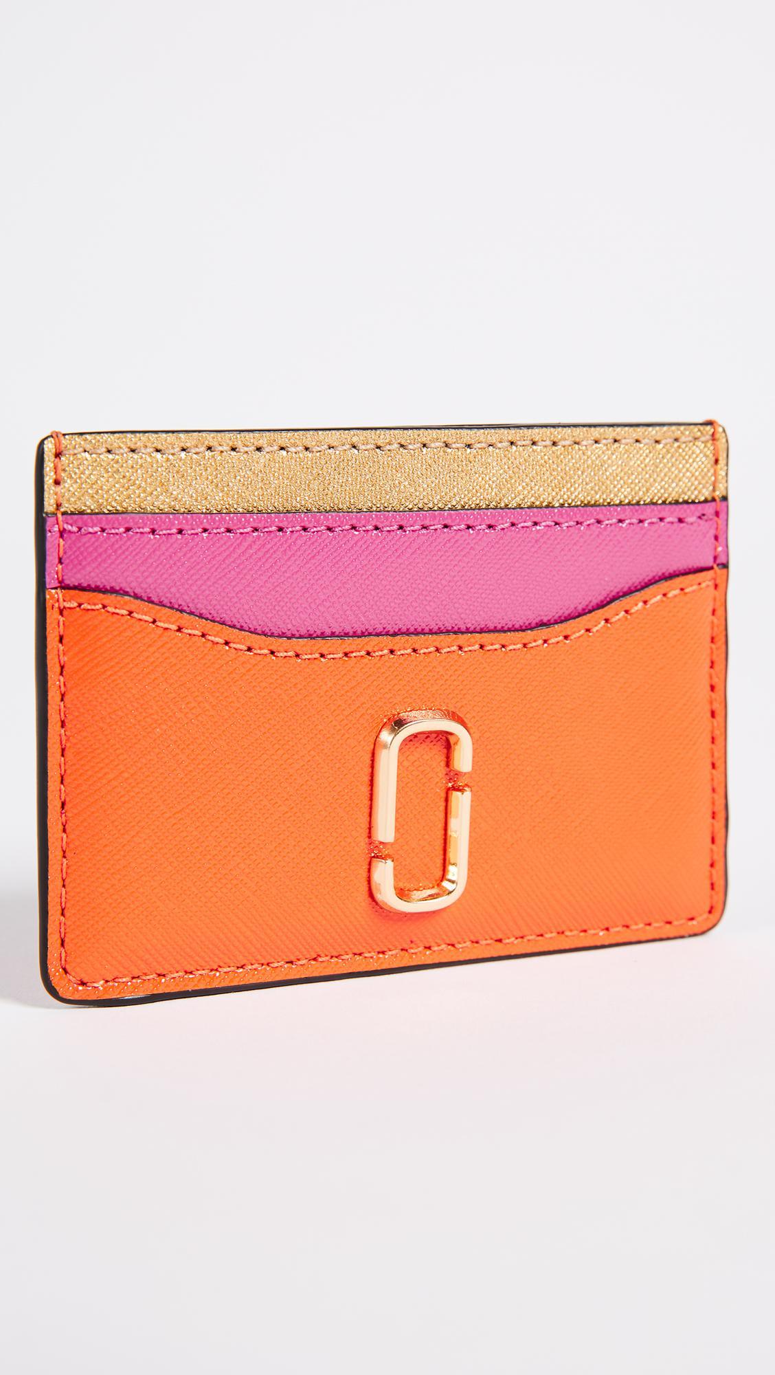 huge discount abb99 1fae2 Marc Jacobs Orange Snapshot Card Case