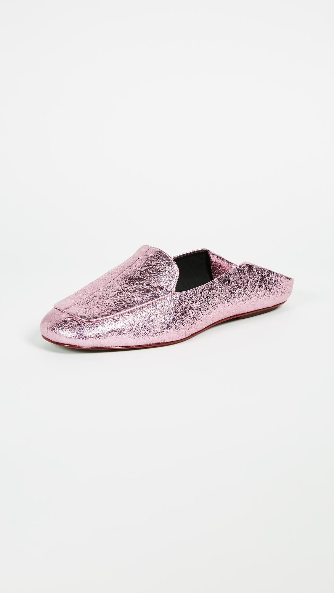 shopping online cheap online Tibi Metallic Cecil Mules sale footlocker finishline choice sale online RU2FQaf