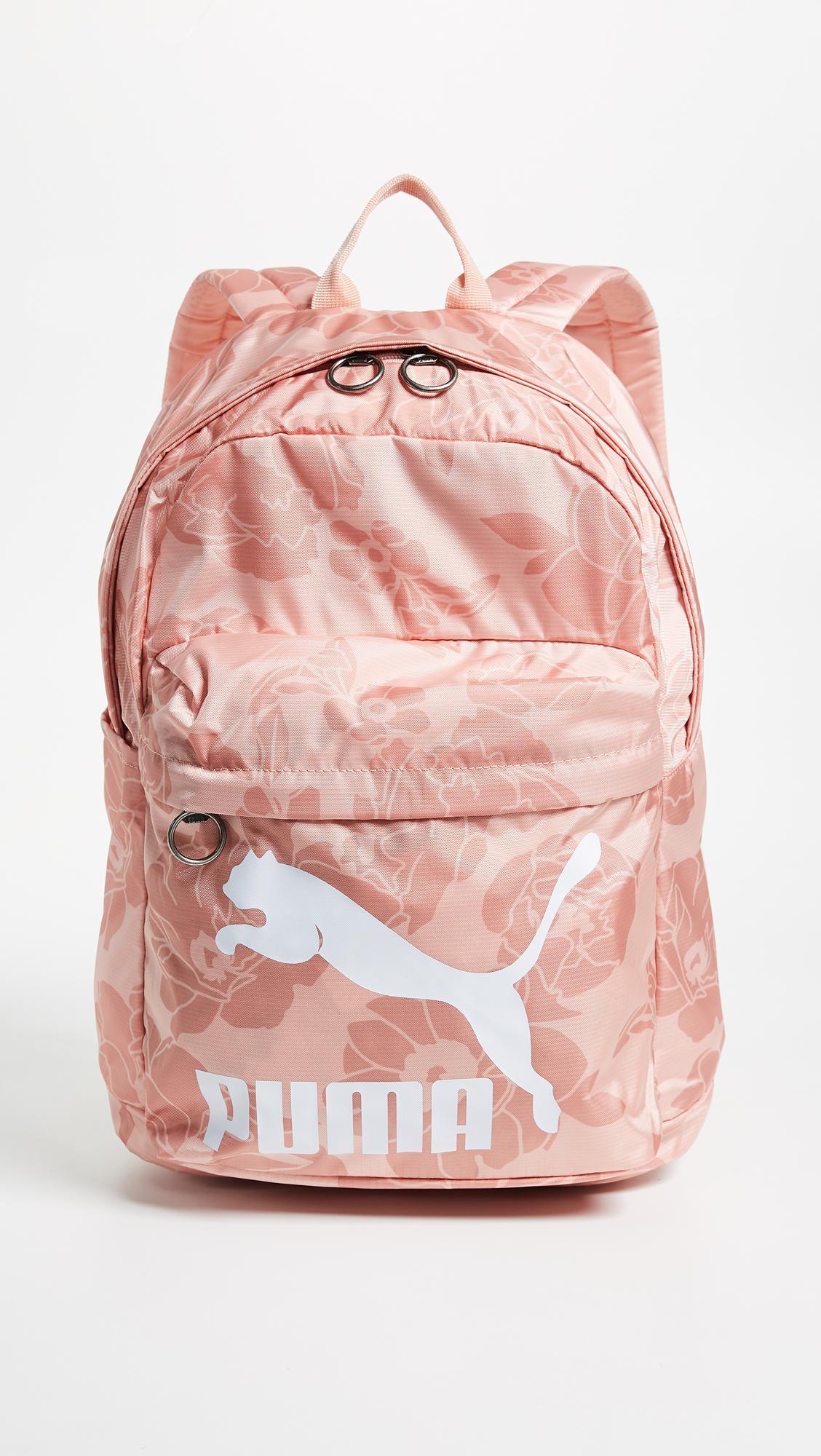 Puma Originals Backpack Rucksack in Pink - Lyst d3516e3a7fe