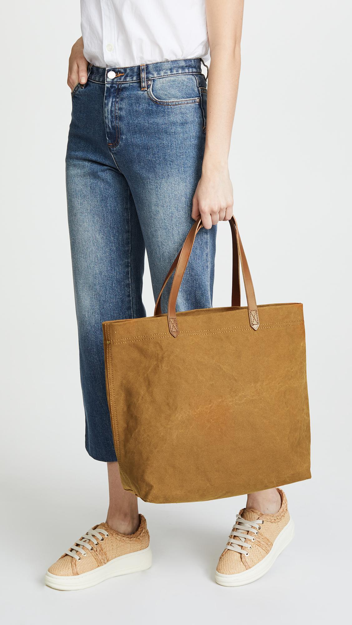 Heavy Canvas Transport Tote Bag