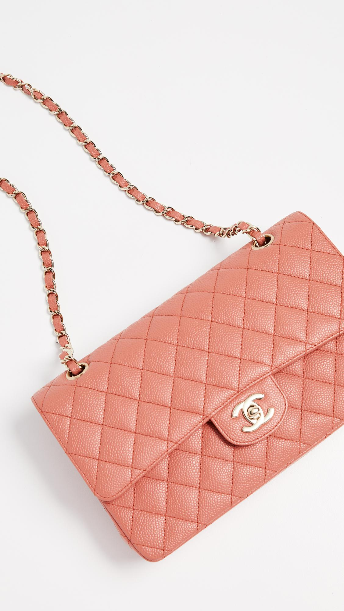 64832e2d03f6 What Goes Around Comes Around Chanel Pink Caviar Shoulder Bag in ...