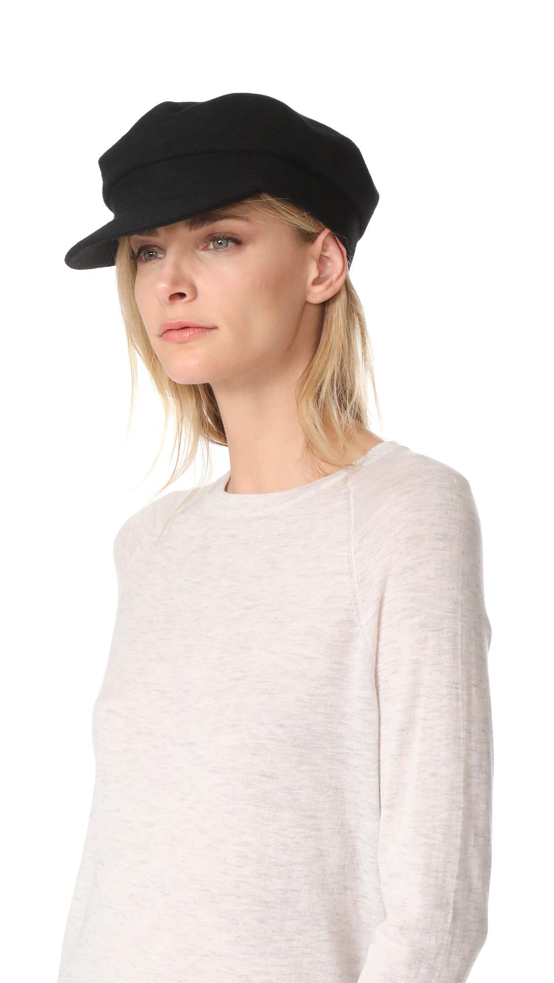 Mattie Hat in Black Janessa Leon oEe2v