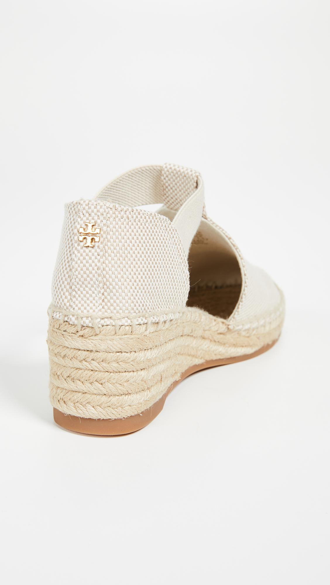 4ee1d29e6 Lyst - Tory Burch Catalina 3 50mm Espadrilles in Natural - Save 30%