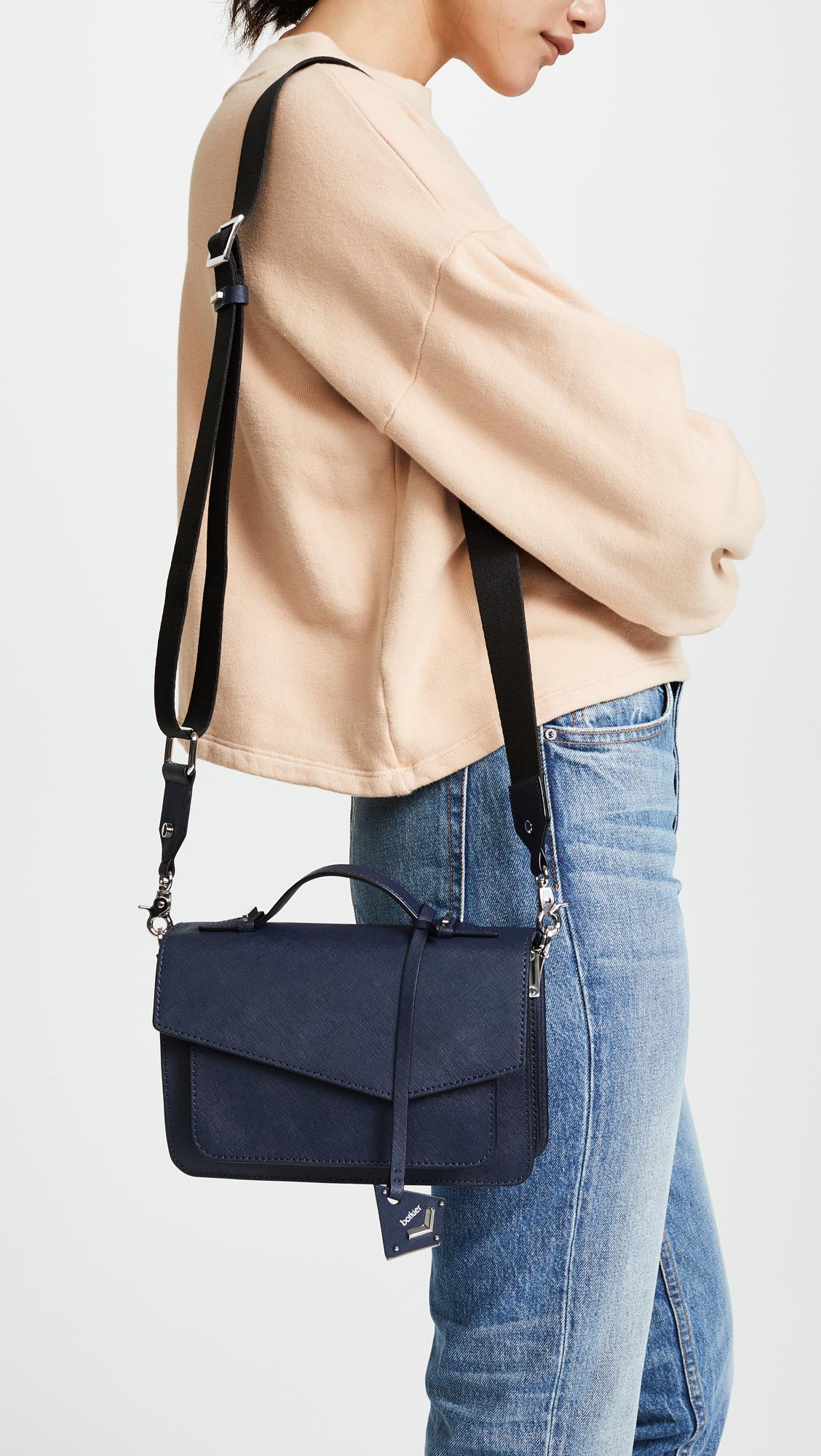 Botkier Womens Cobble Hill Crossbody Bag