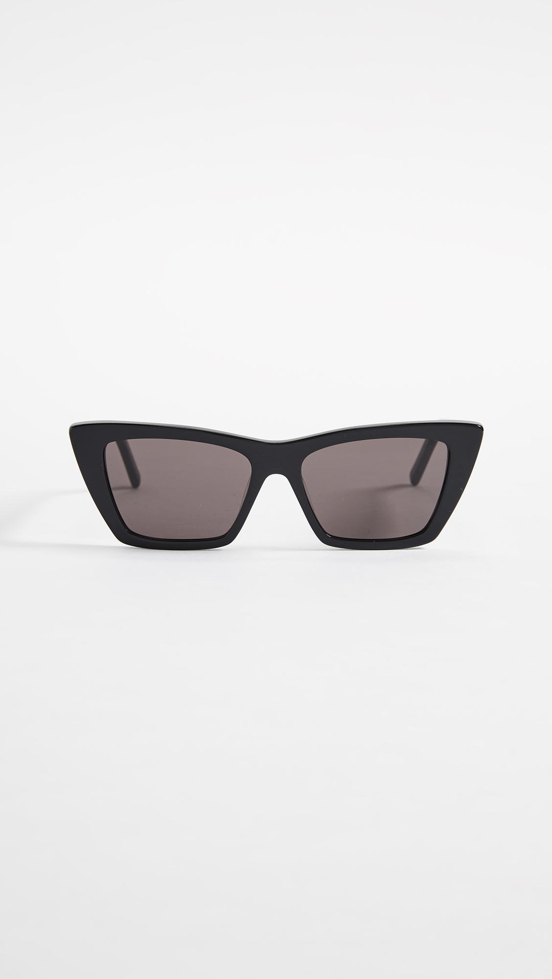 a46f38b837 Saint Laurent. Women s Narrow Cat Eye Sunglasses