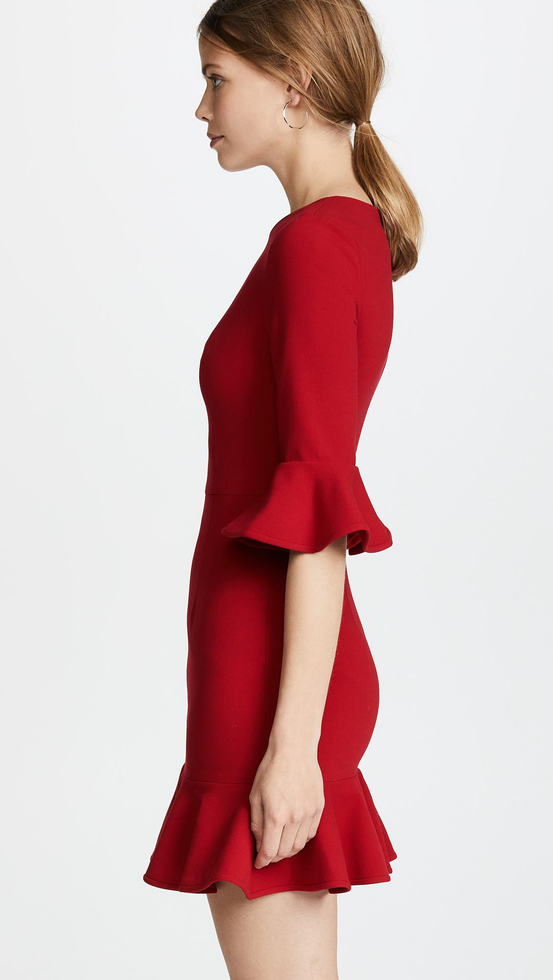 a91957a73116 Black Halo - Red Brooklyn Dress - Lyst. View fullscreen