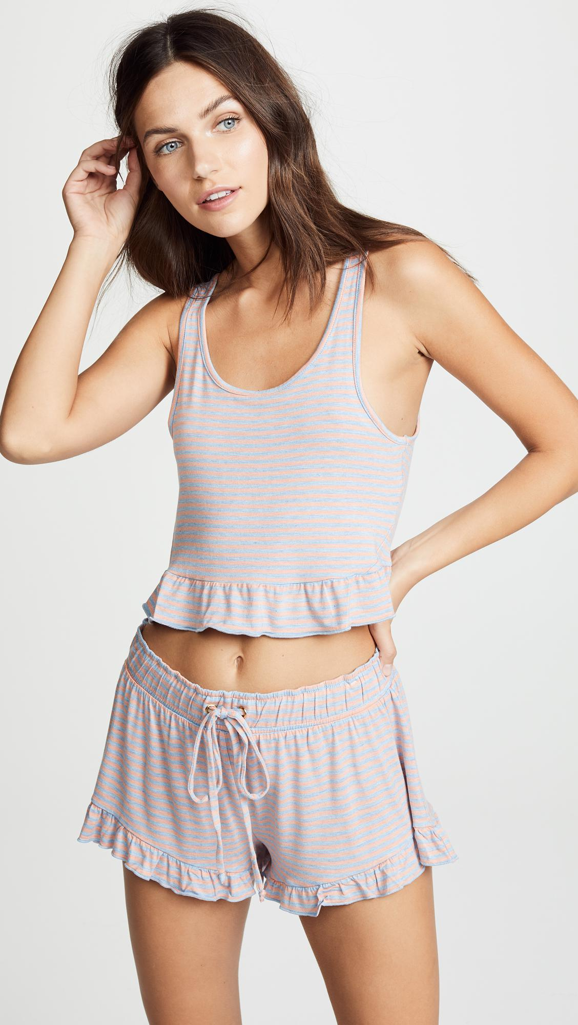 Honeydew Intimates Synthetic Catnap Lounge Crop Top - Lyst