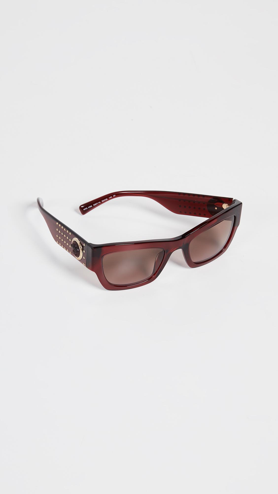 8ed1f2753824 Lyst - Versace Rock Icons Studded Sunglasses