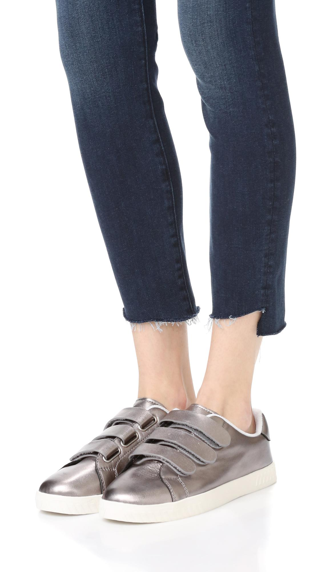 d684c6907dd63 Tretorn Gray Carry Ii Velcro Sneakers