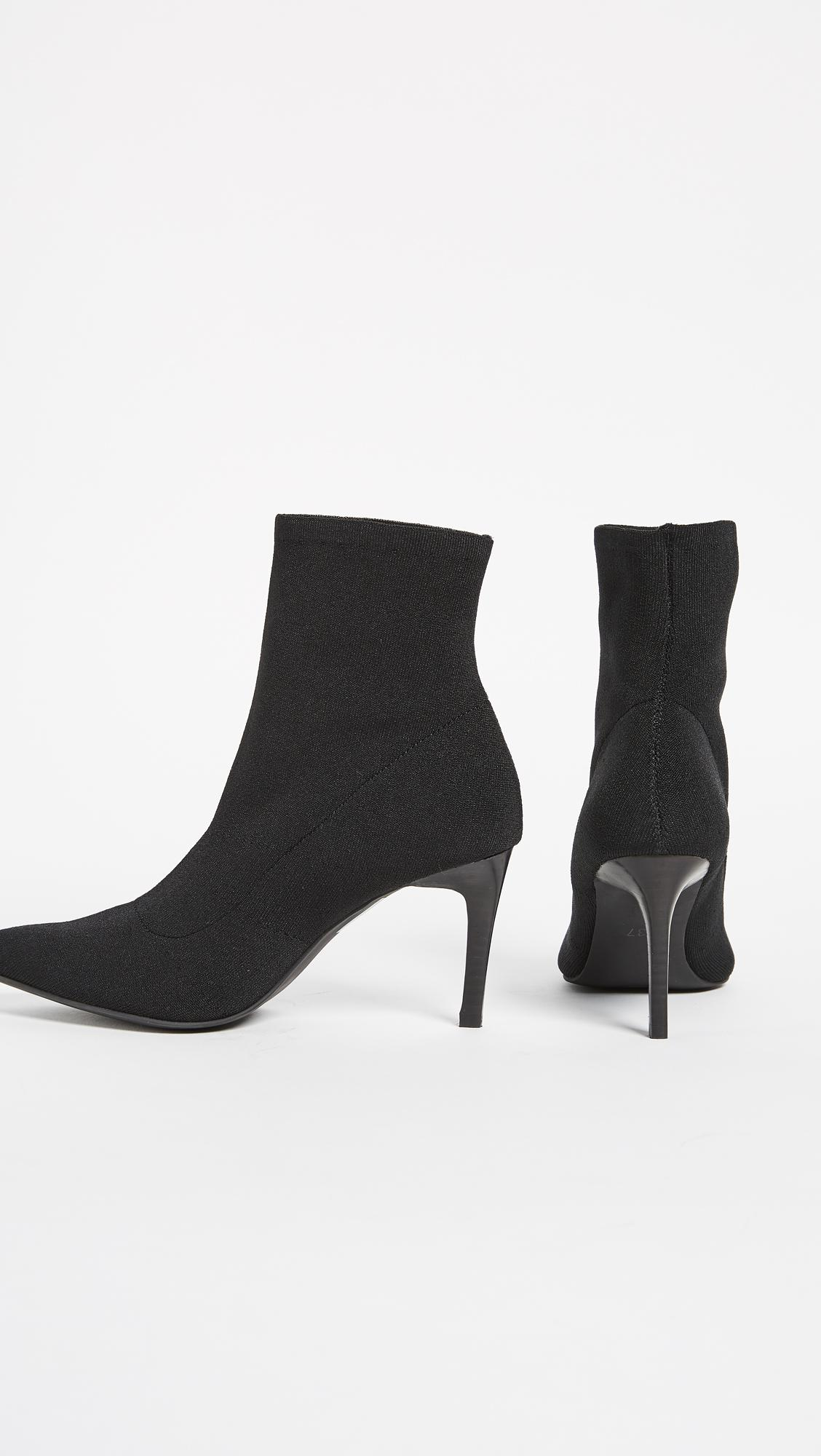 Sol Sana Ezra Booties in Black