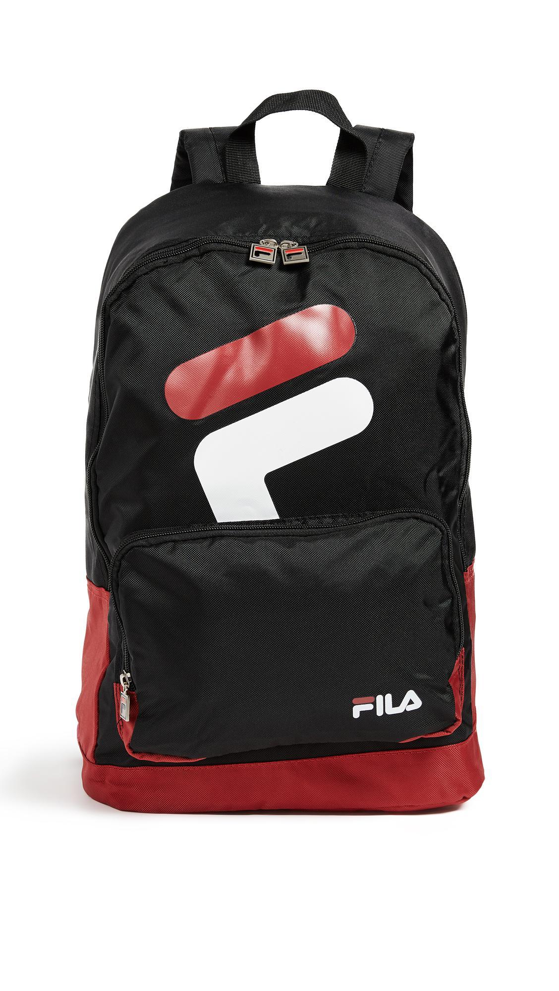 489f466432 Lyst - Fila Sam Backpack in Black