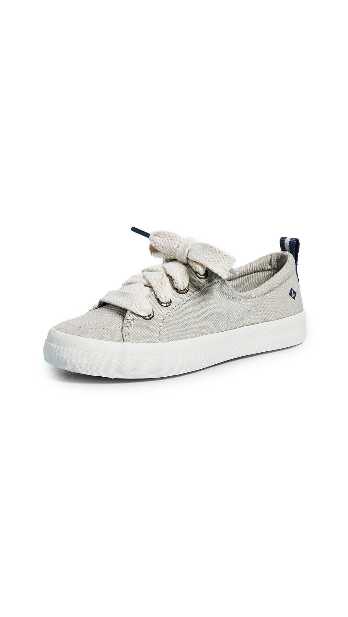 Sperry Top-Sider Crest Vibe Chubby Lace Sneakers in Ivory (White)
