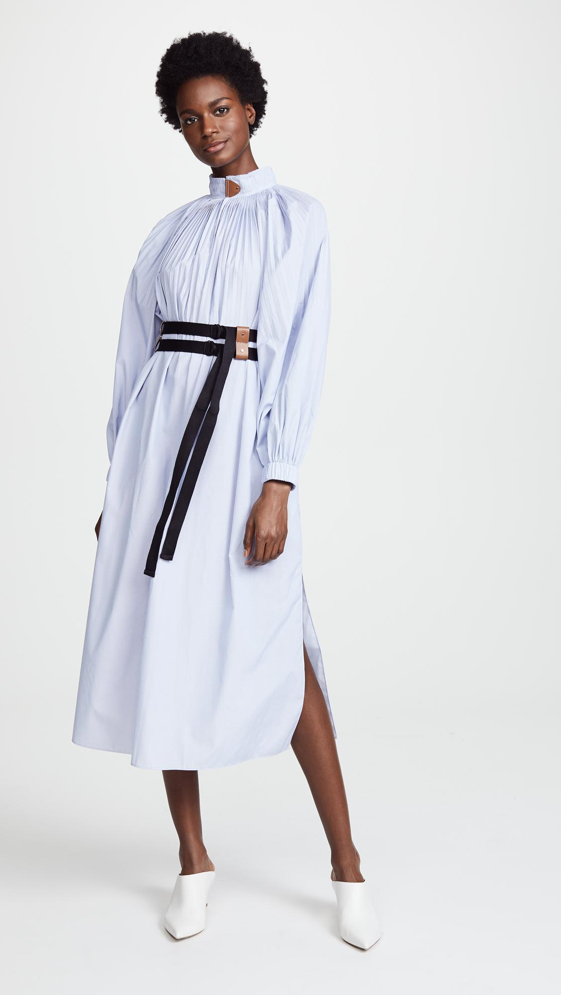 ef88219749a8a8 Tibi Isabelle Shirting Dress in Blue - Lyst