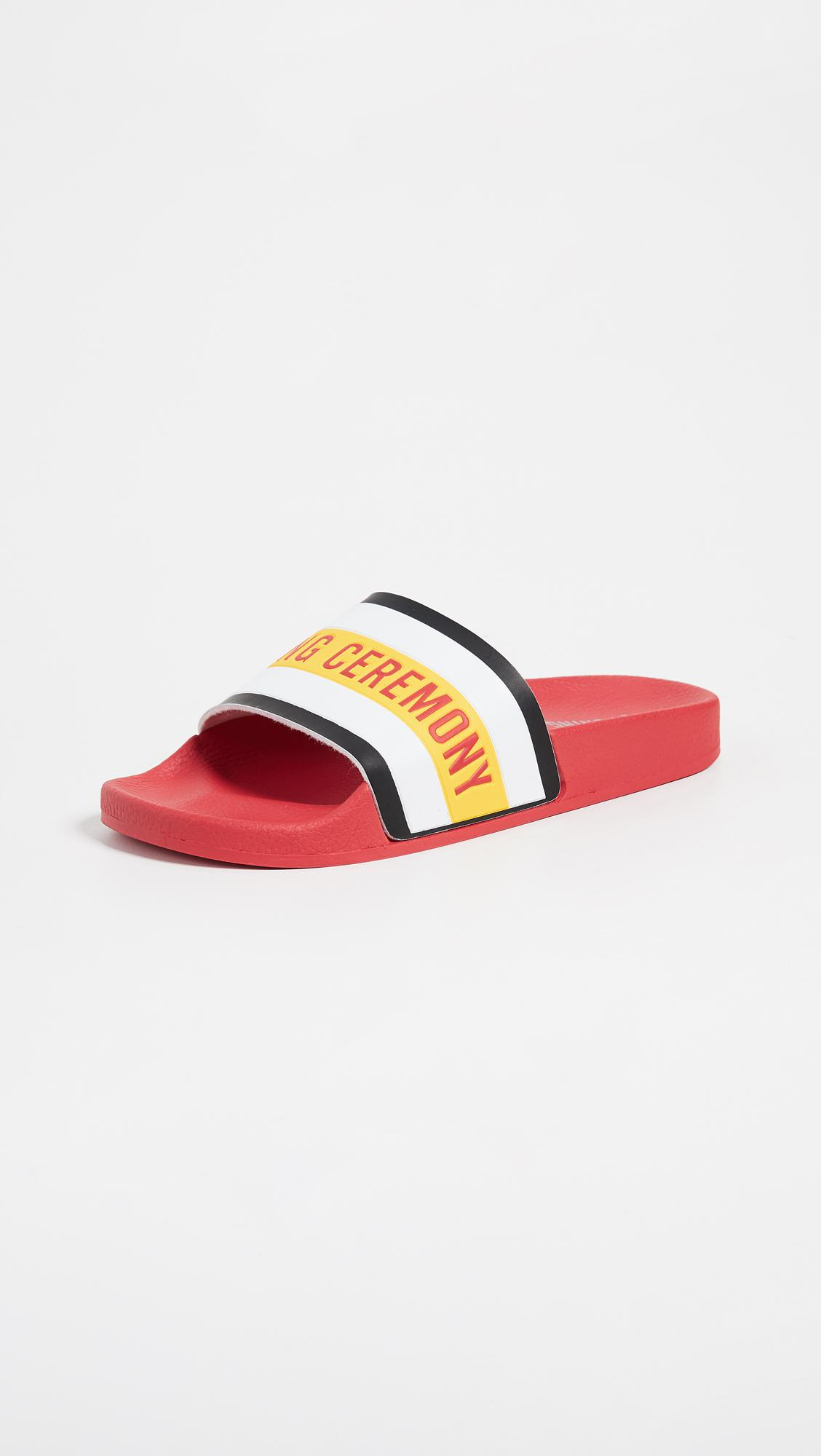 Opening Ceremony Red Ace Logo Slides nJY0LZv