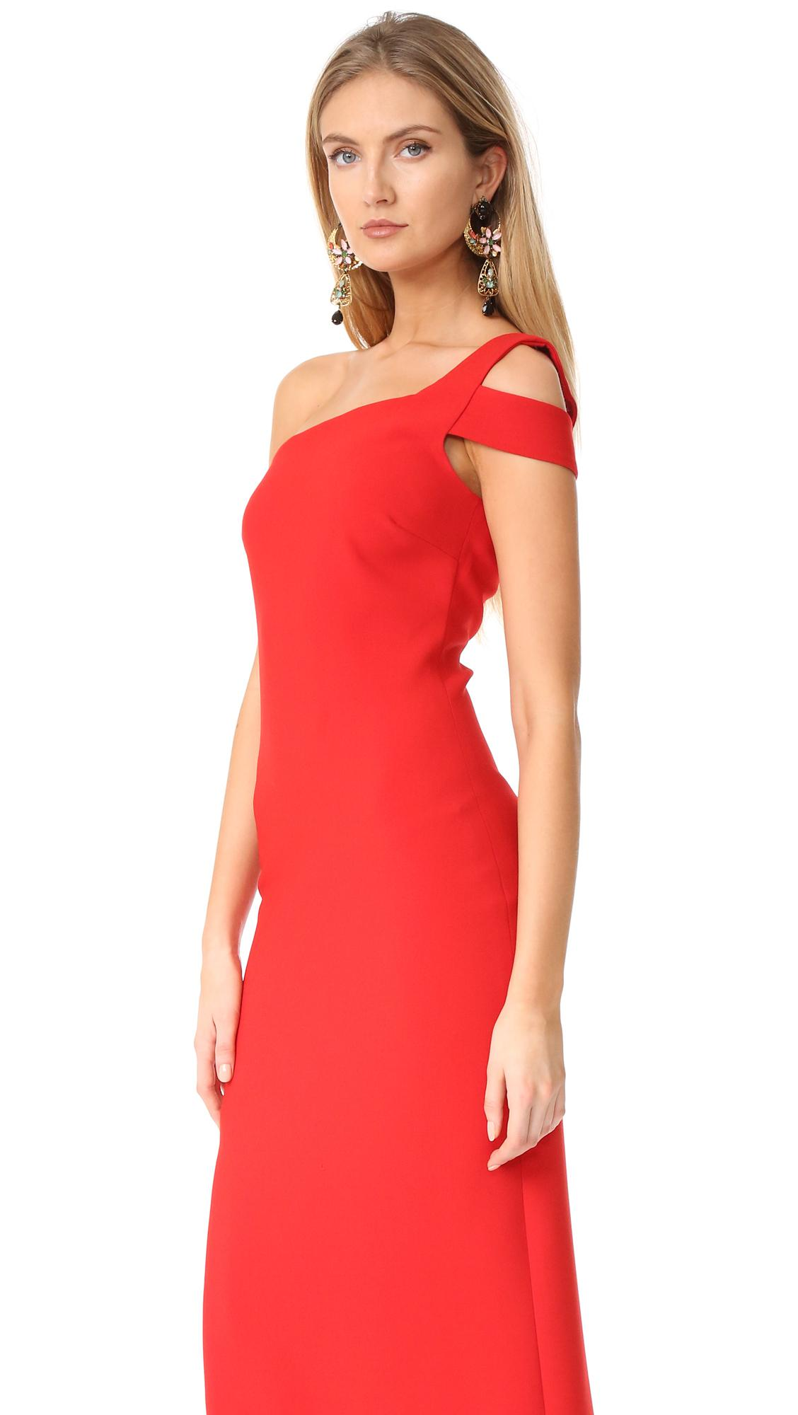 b8ba3fb064a Likely Maxson Dress in Red - Lyst