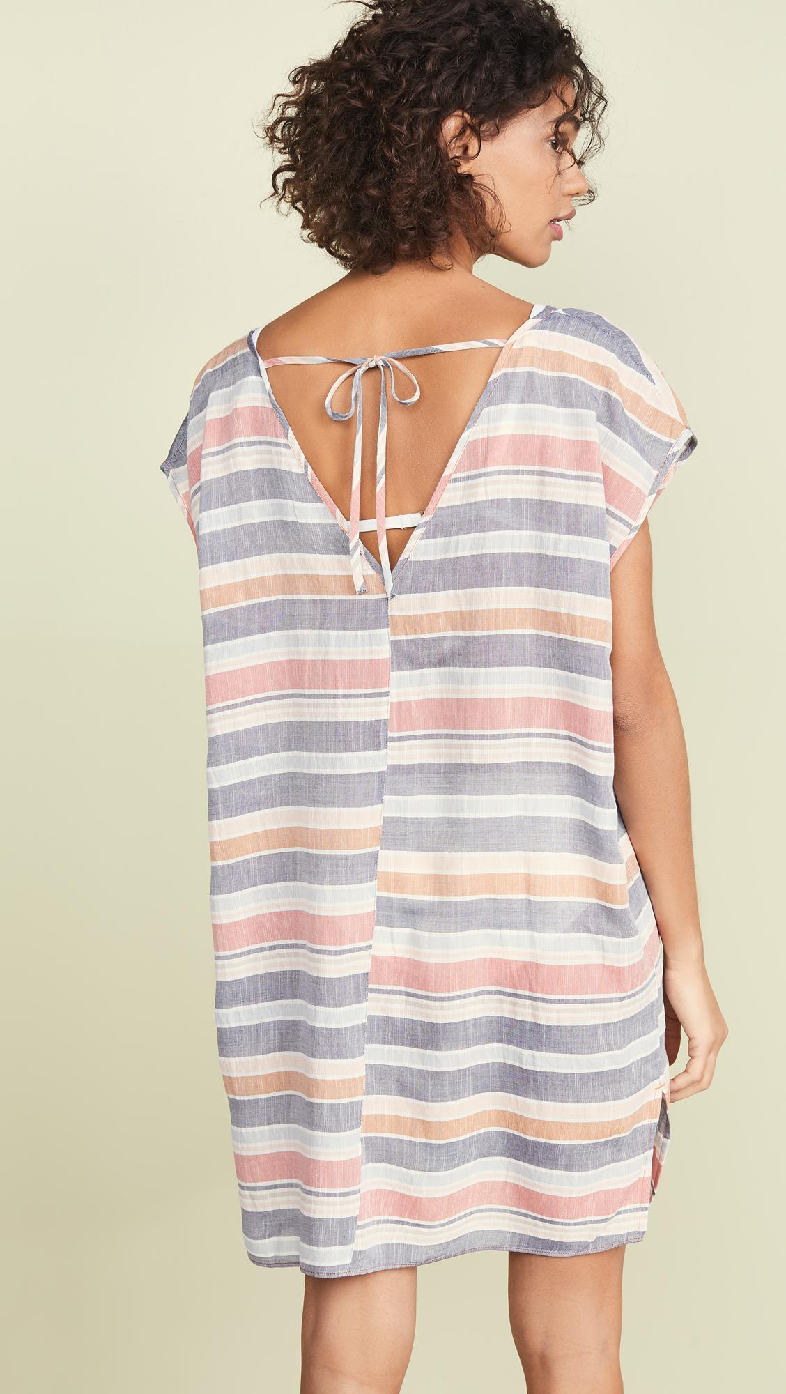 df3f094e138 Lyst - Madewell Cover Up Tunic Dress in Blue