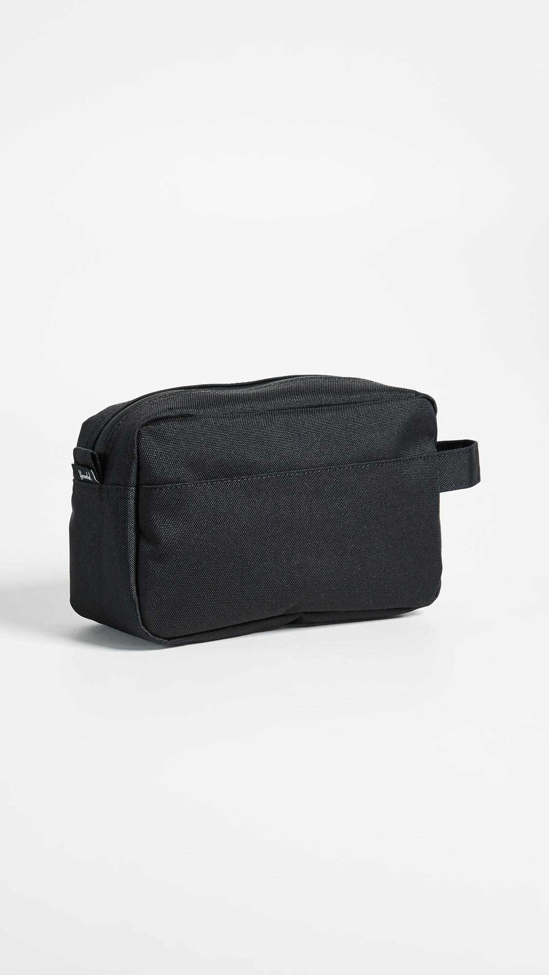 afab23217274 Lyst - Herschel Supply Co. Chapter Carry On Travel Kit in Black
