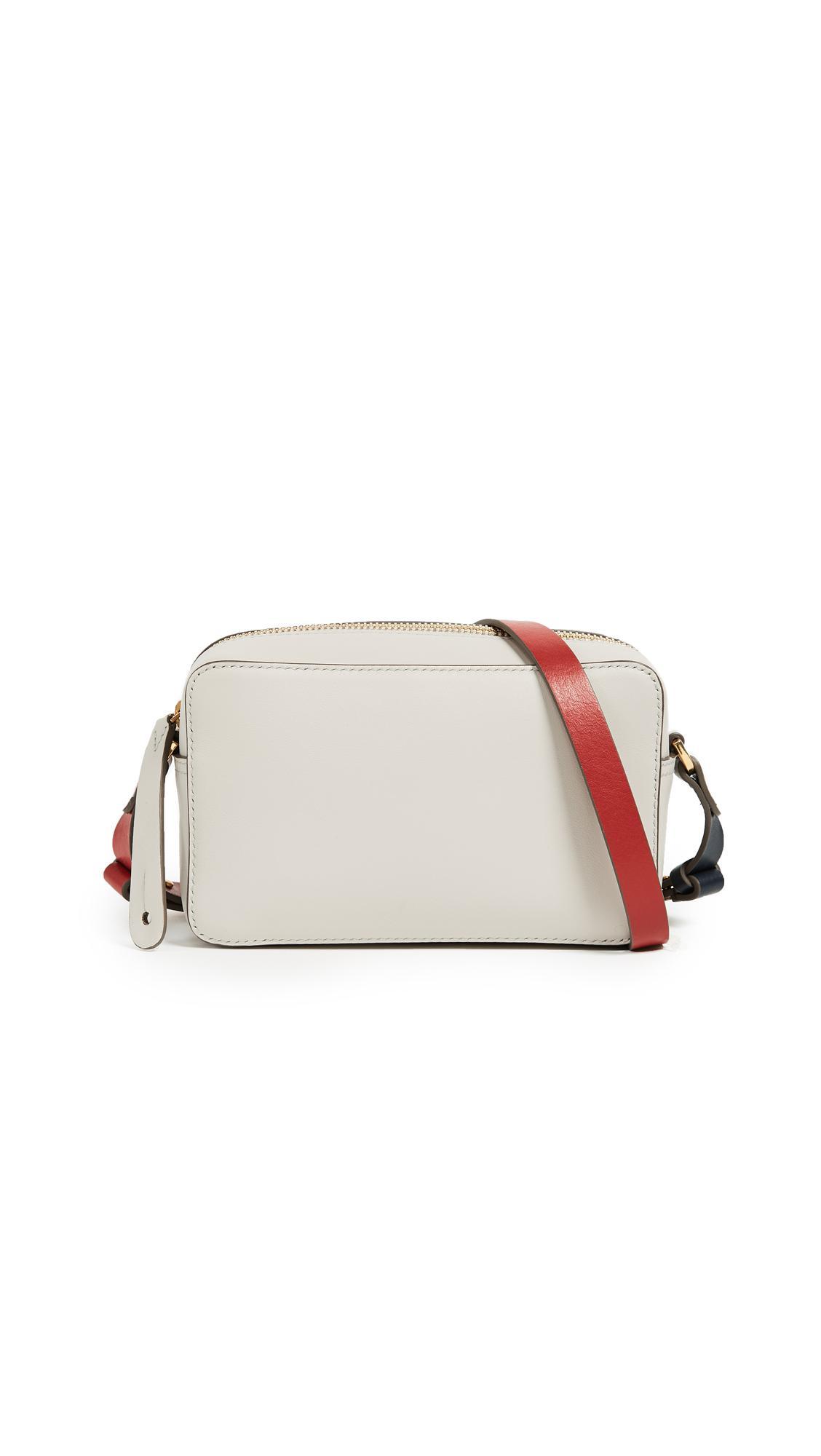 Anya Hindmarch Leather Mini Circle Cross Body Bag