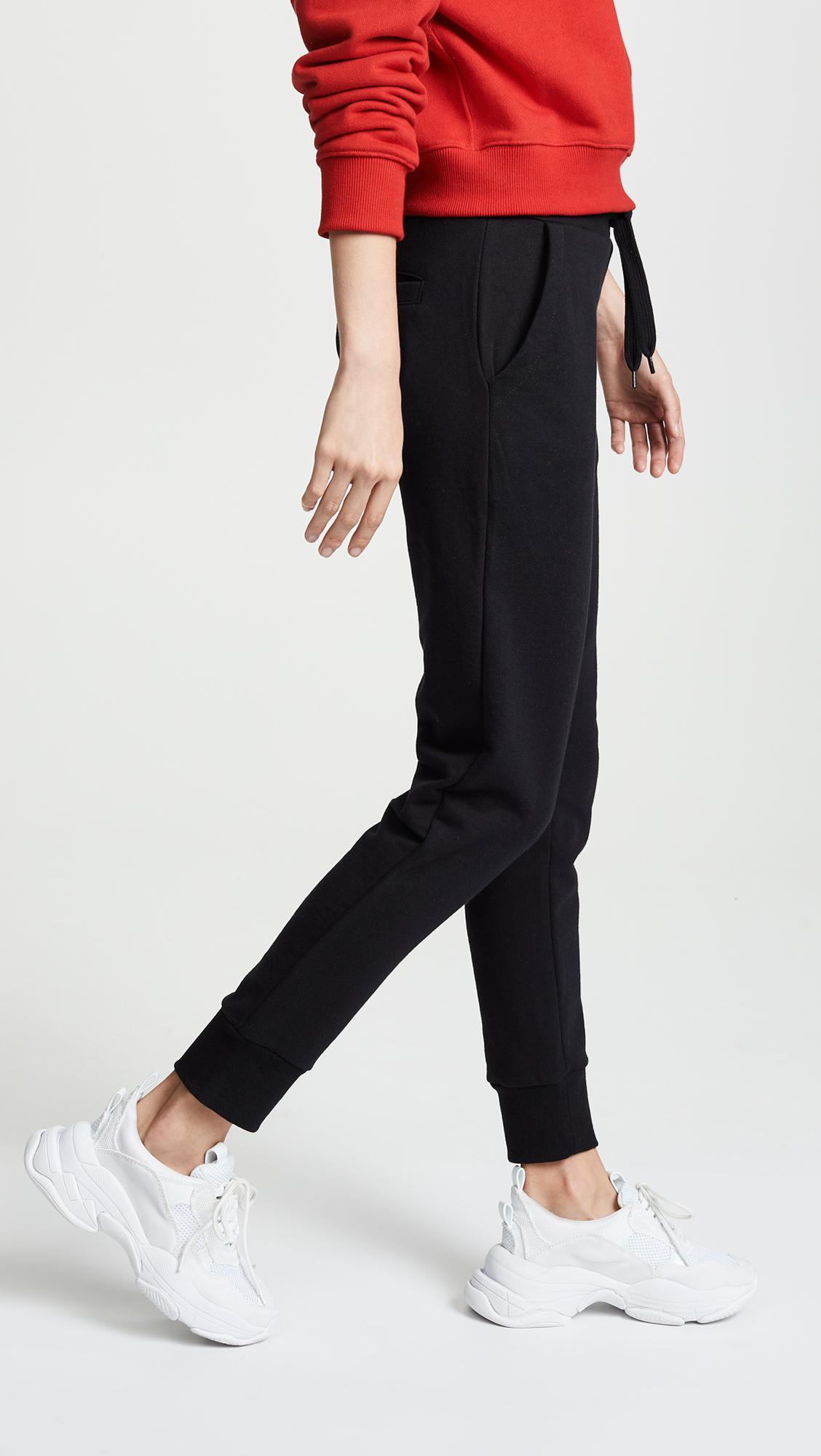 dfd6a56eba8e Lyst - Fila Frances Jogger in Black - Save 18%