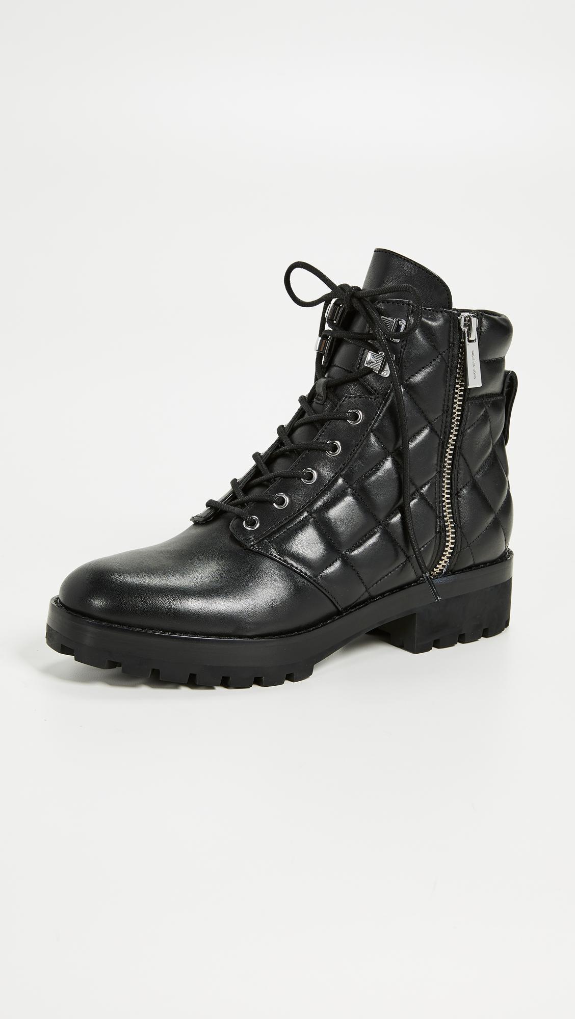 Rosario Quilted Combat Boots