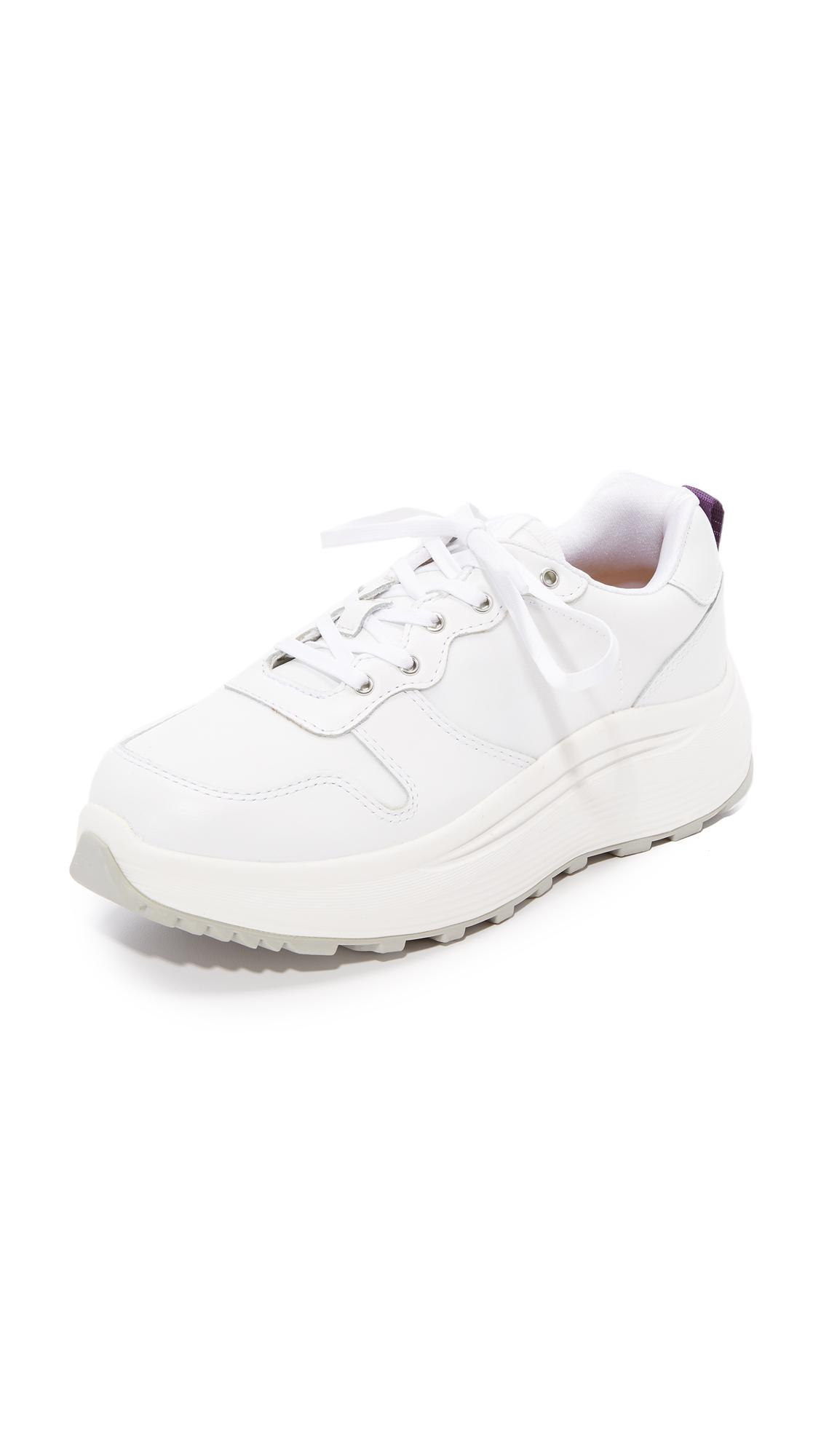 Eytys Leather Jet Combo Sneakers in