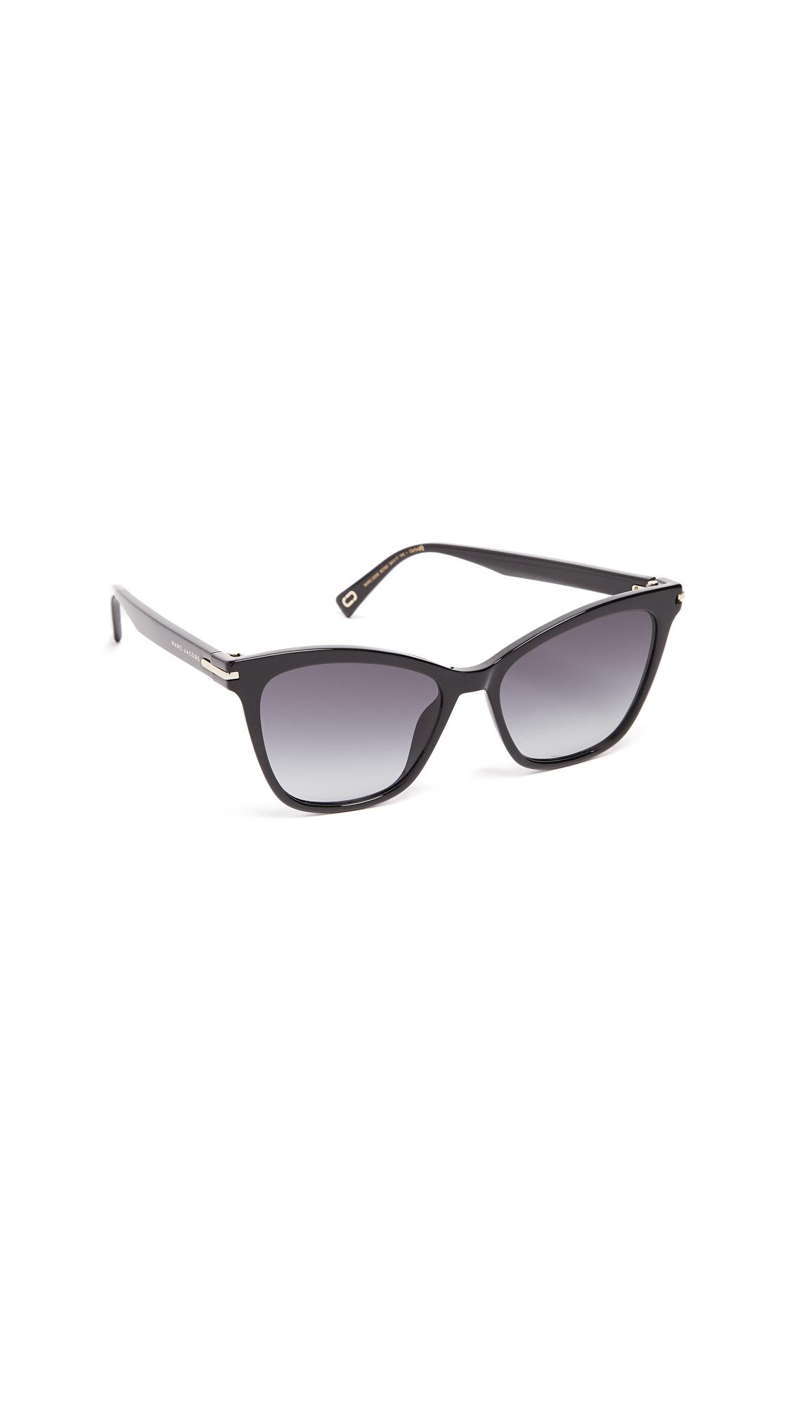 Marc Jacobs Cat Eye Sunglasses in Grey