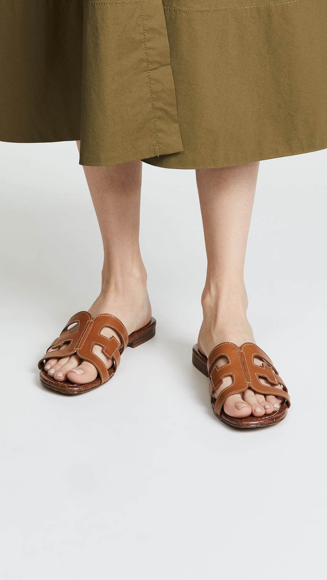 1b61b670a Sam Edelman - Brown Bay (baltic Navy Modena Calf Leather) Women s Slide  Shoes -. View fullscreen