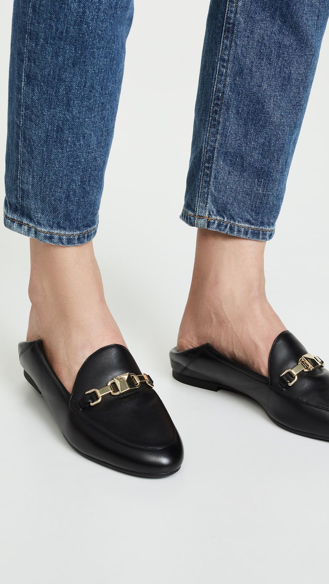 0f48bb8cbac MICHAEL Michael Kors - Black Charlton Loafers - Lyst. View fullscreen