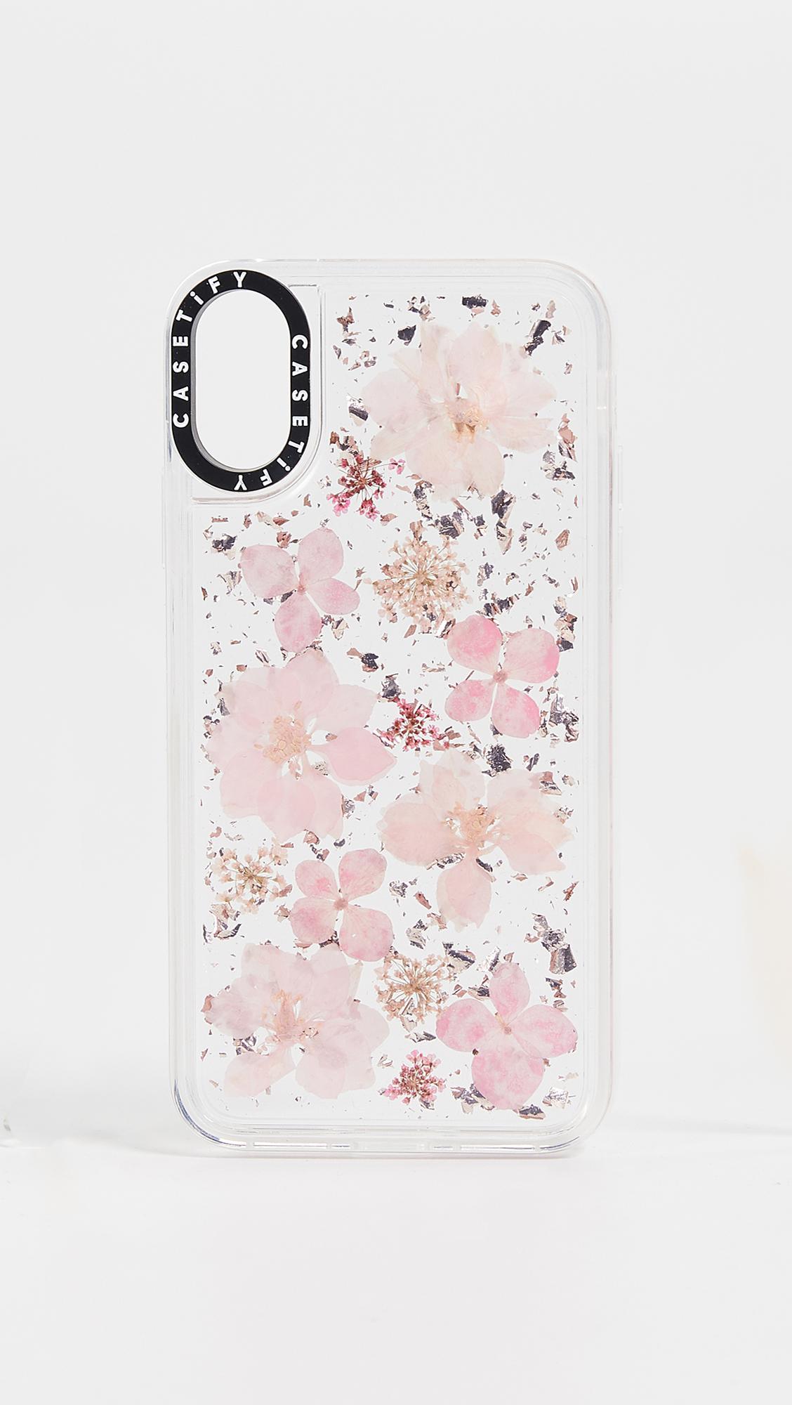 quality design 53560 a5f69 Casetify Pink Pressed Flower Sakura Iphone X / Xs Case